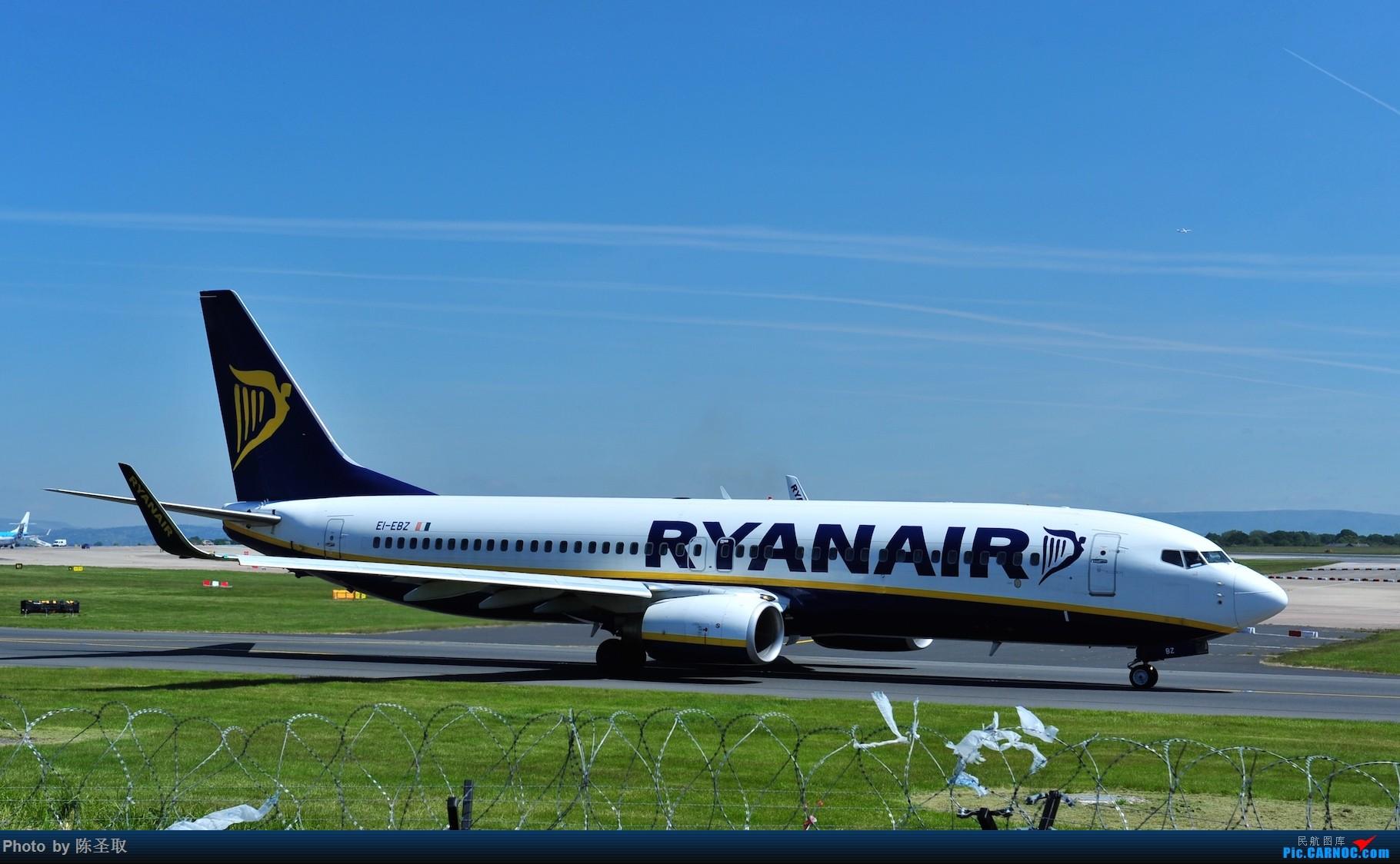 Re:[原创]迟来的6月曼城拍机图。廉价航空的天堂,曼彻斯特机场~ BOEING 737-8AS(W) EI-EBZ 英国曼彻斯特机场