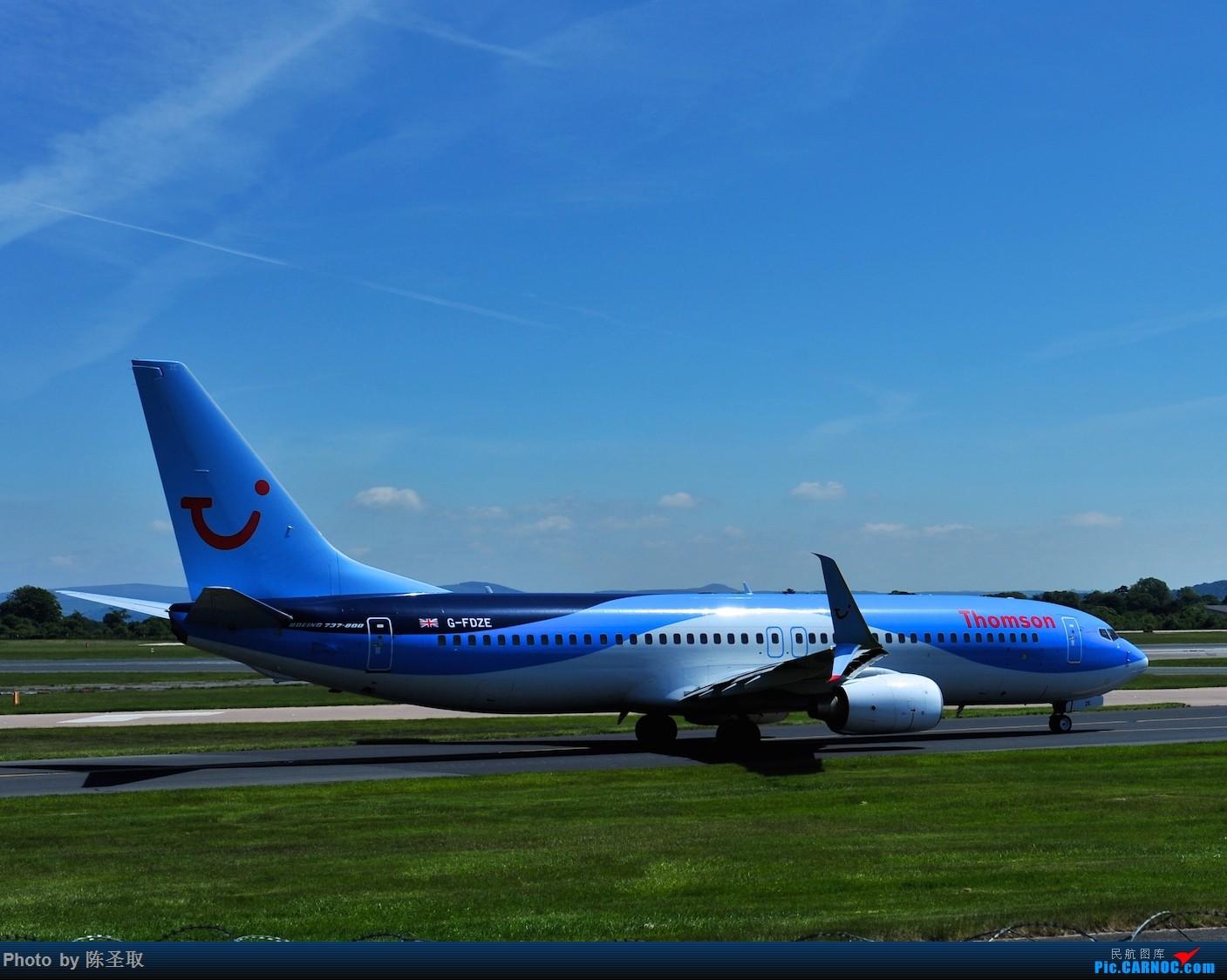 Re:[原创]迟来的6月曼城拍机图。廉价航空的天堂,曼彻斯特机场~ BOEING 737-8K5 G-FDZE 英国曼彻斯特机场