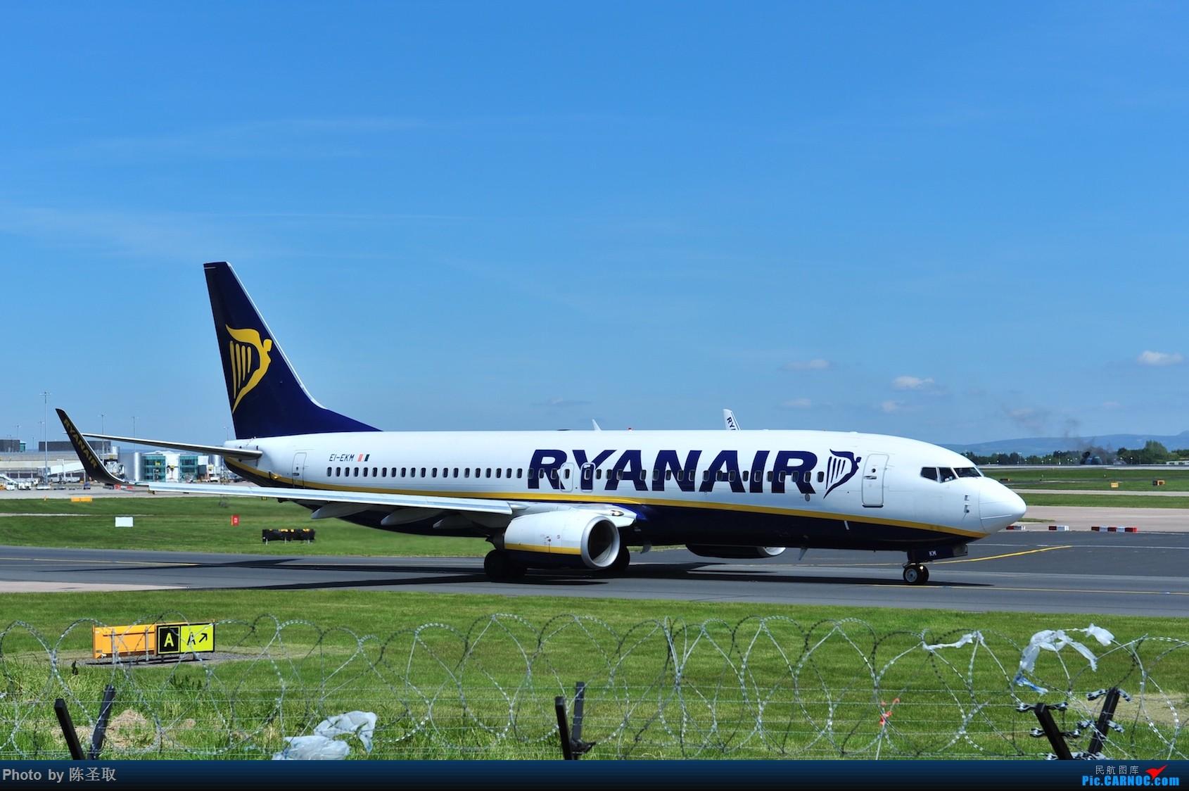 Re:[原创]迟来的6月曼城拍机图。廉价航空的天堂,曼彻斯特机场~ BOEING 737-8AS(W) EI-EKM 英国曼彻斯特机场