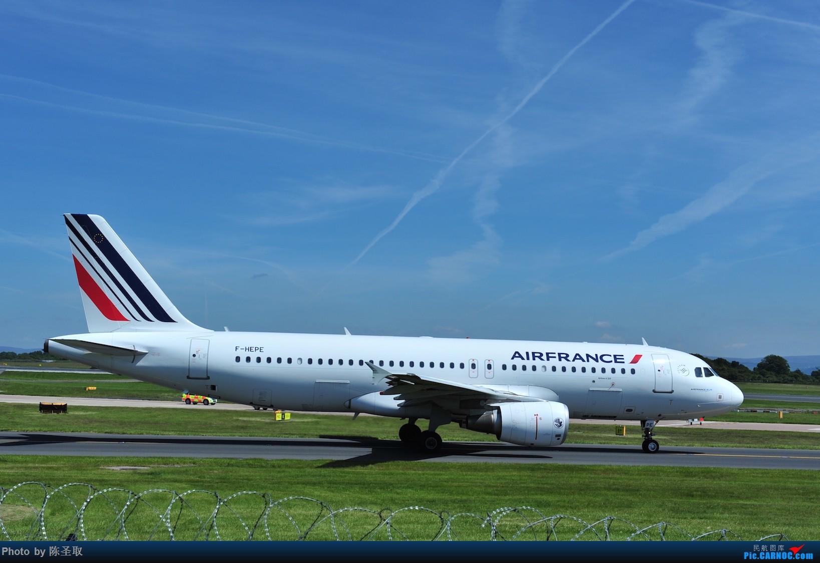 Re:[原创]迟来的6月曼城拍机图。廉价航空的天堂,曼彻斯特机场~ AIRBUS A320-214 F-HEPE 英国曼彻斯特机场