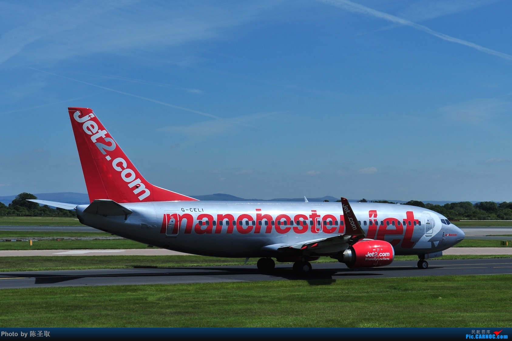 Re:[原创]迟来的6月曼城拍机图。廉价航空的天堂,曼彻斯特机场~ BOEING 737-330 G-CELI 英国曼彻斯特机场