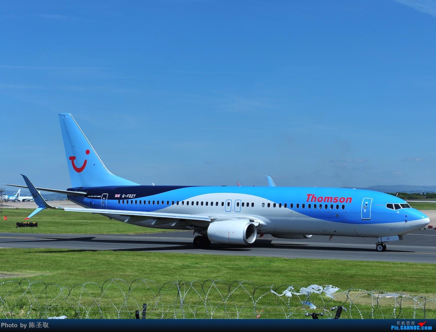 Re:[原创]迟来的6月曼城拍机图。廉价航空的天堂,曼彻斯特机场~ BOEING 737-8K5(W) G-FDZT 英国曼彻斯特机场