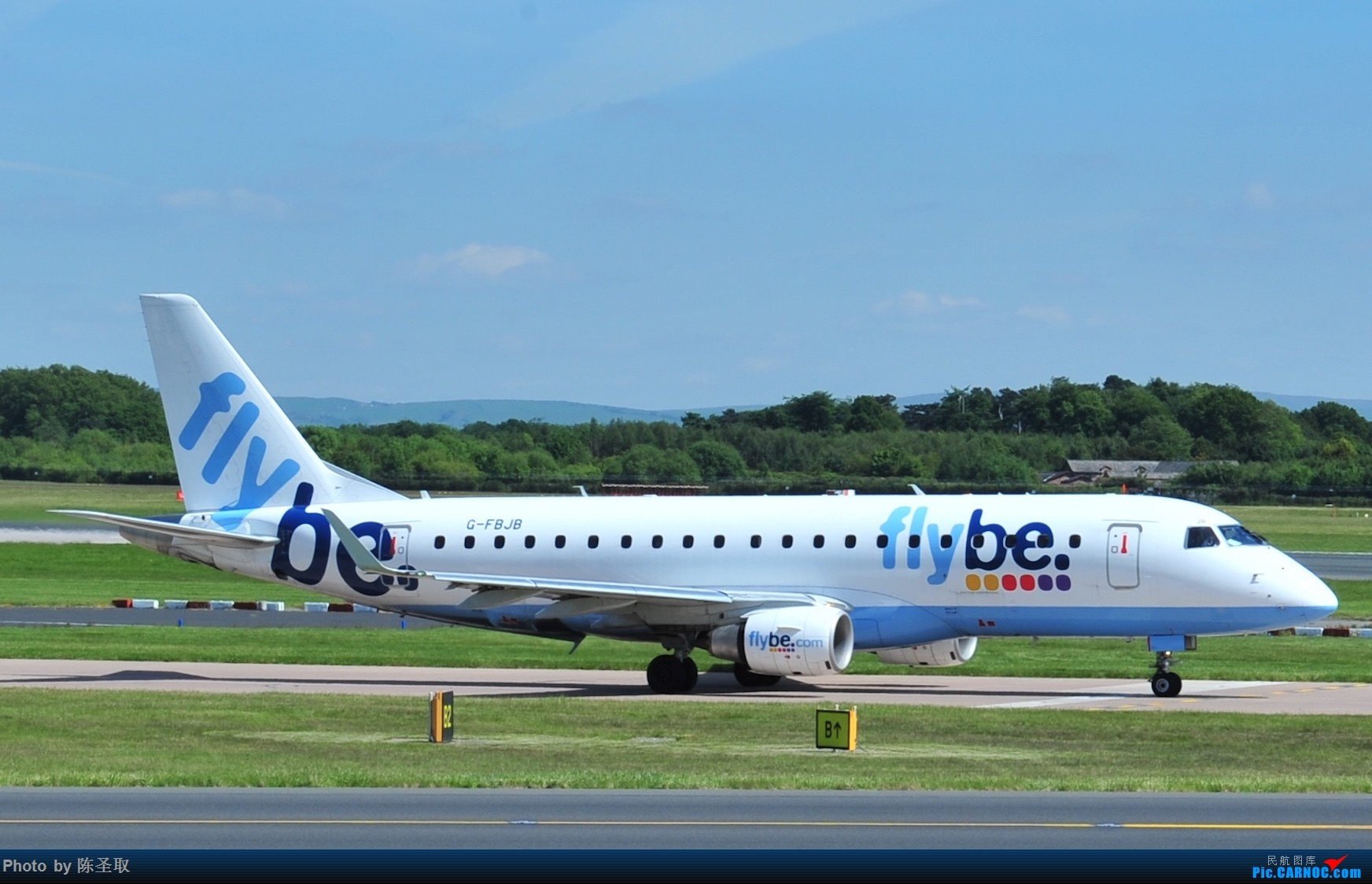 Re:[原创]迟来的6月曼城拍机图。廉价航空的天堂,曼彻斯特机场~ EMBRAER E-175STD G-FBJB 英国曼彻斯特机场