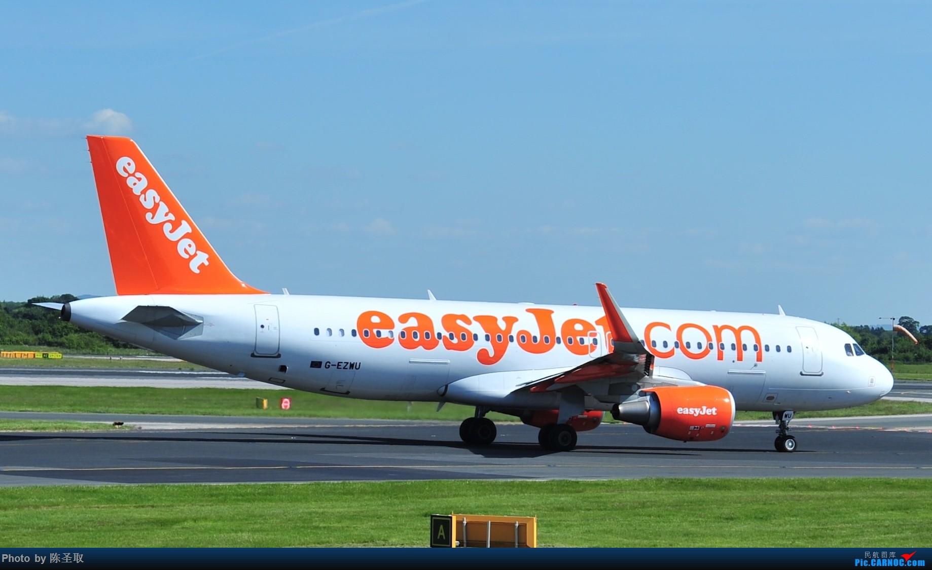 Re:[原创]迟来的6月曼城拍机图。廉价航空的天堂,曼彻斯特机场~ AIRBUS A320-214(W) G-EZWU 英国曼彻斯特机场