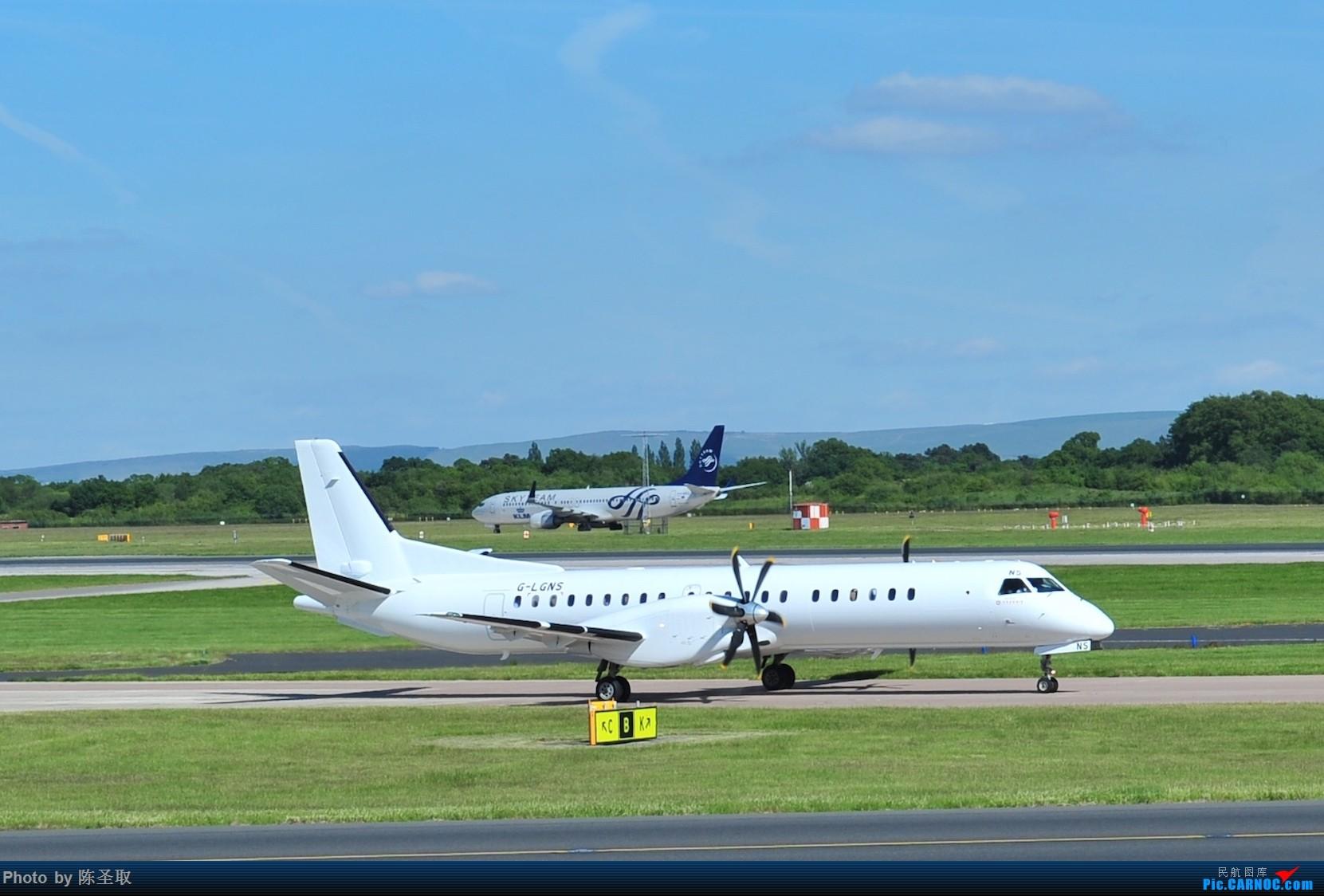 Re:[原创]迟来的6月曼城拍机图。廉价航空的天堂,曼彻斯特机场~ SAAB SCANIA 2000 G-LGNS 英国曼彻斯特机场