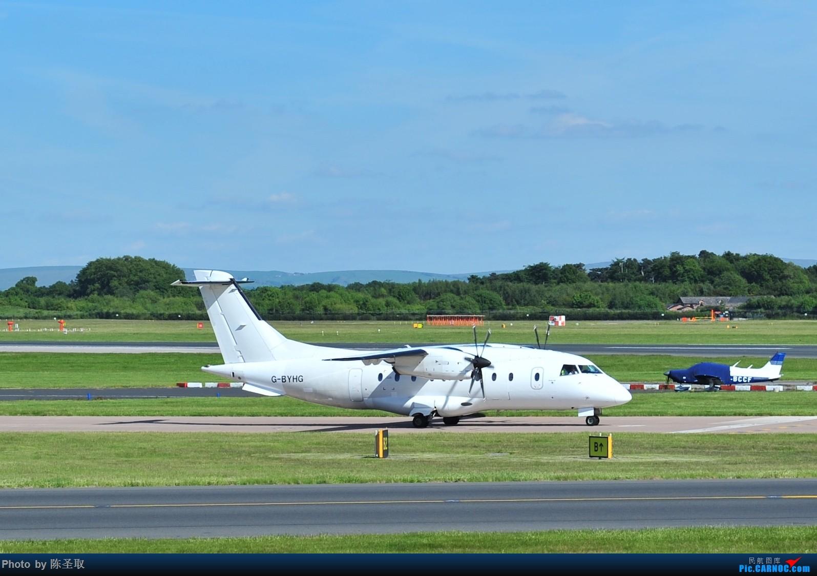 Re:[原创]迟来的6月曼城拍机图。廉价航空的天堂,曼彻斯特机场~ DORNIER 328-110 D328 G-BYHG 英国曼彻斯特机场