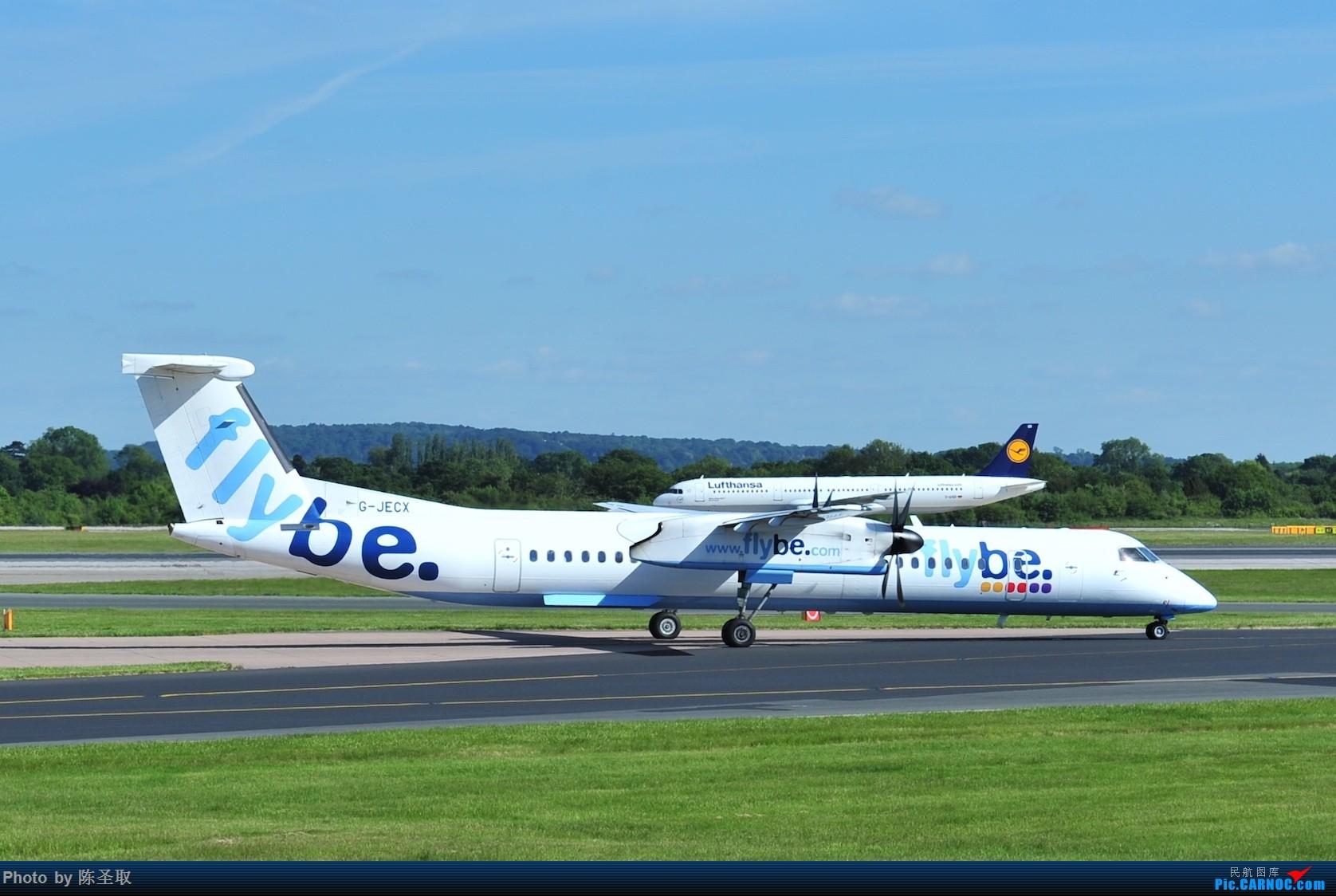 Re:[原创]迟来的6月曼城拍机图。廉价航空的天堂,曼彻斯特机场~ DE HAVILLAN CANADA DHC-8-402Q G-JECX 英国曼彻斯特机场