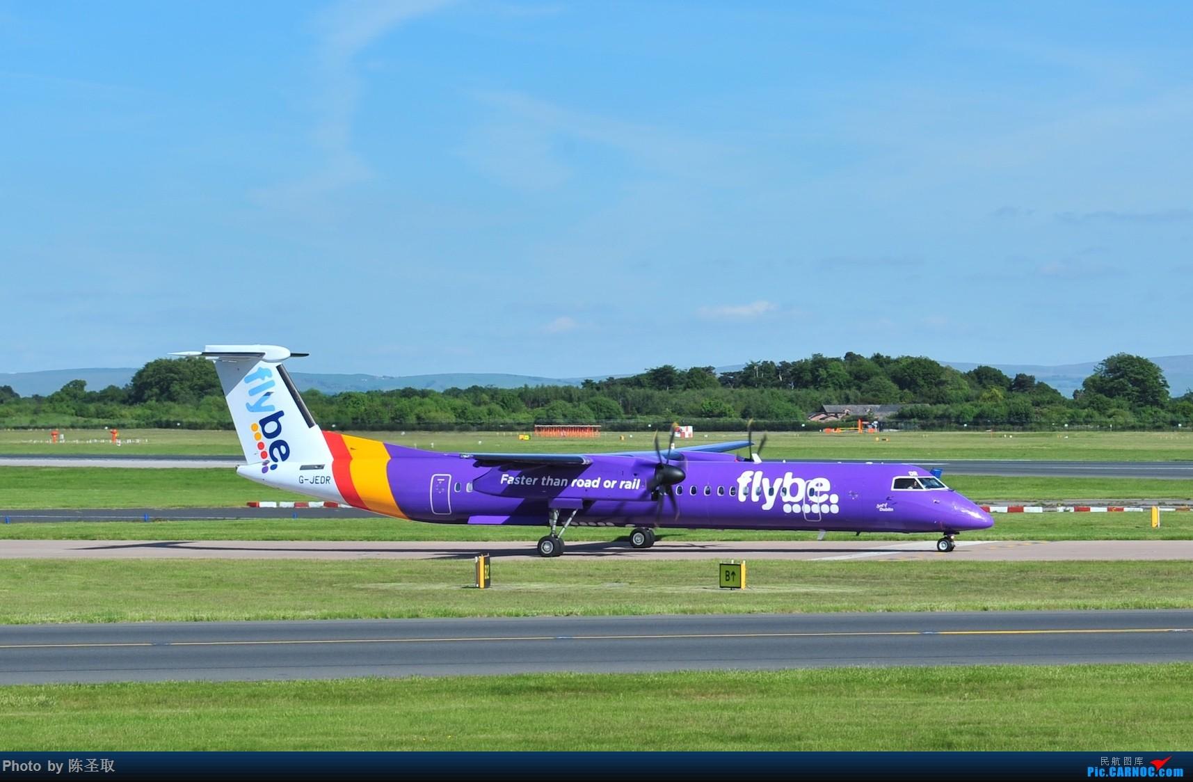 Re:[原创]迟来的6月曼城拍机图。廉价航空的天堂,曼彻斯特机场~ DE HAVILLAN CANADA DHC-8-402 G-JEDR 英国曼彻斯特机场
