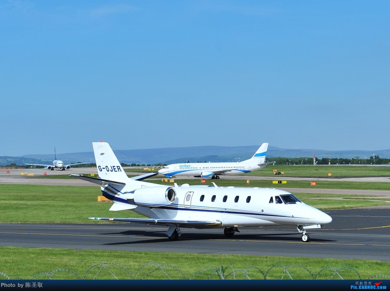 Re:[原创]迟来的6月曼城拍机图。廉价航空的天堂,曼彻斯特机场~ CESSNA 560XLS+ G-OJER 英国曼彻斯特机场