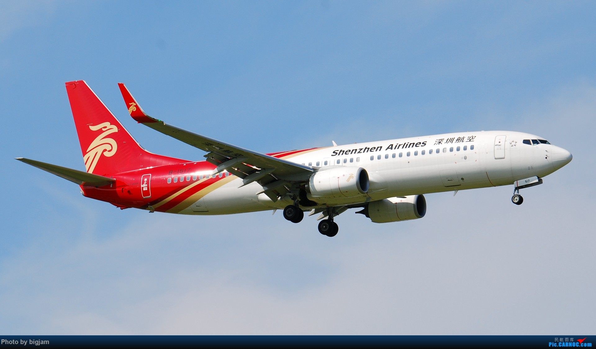 Re:[原创]刚升级到B737级 那就发点拍过的B737吧 BOEING 737-800 B-1517 中国北京首都国际机场