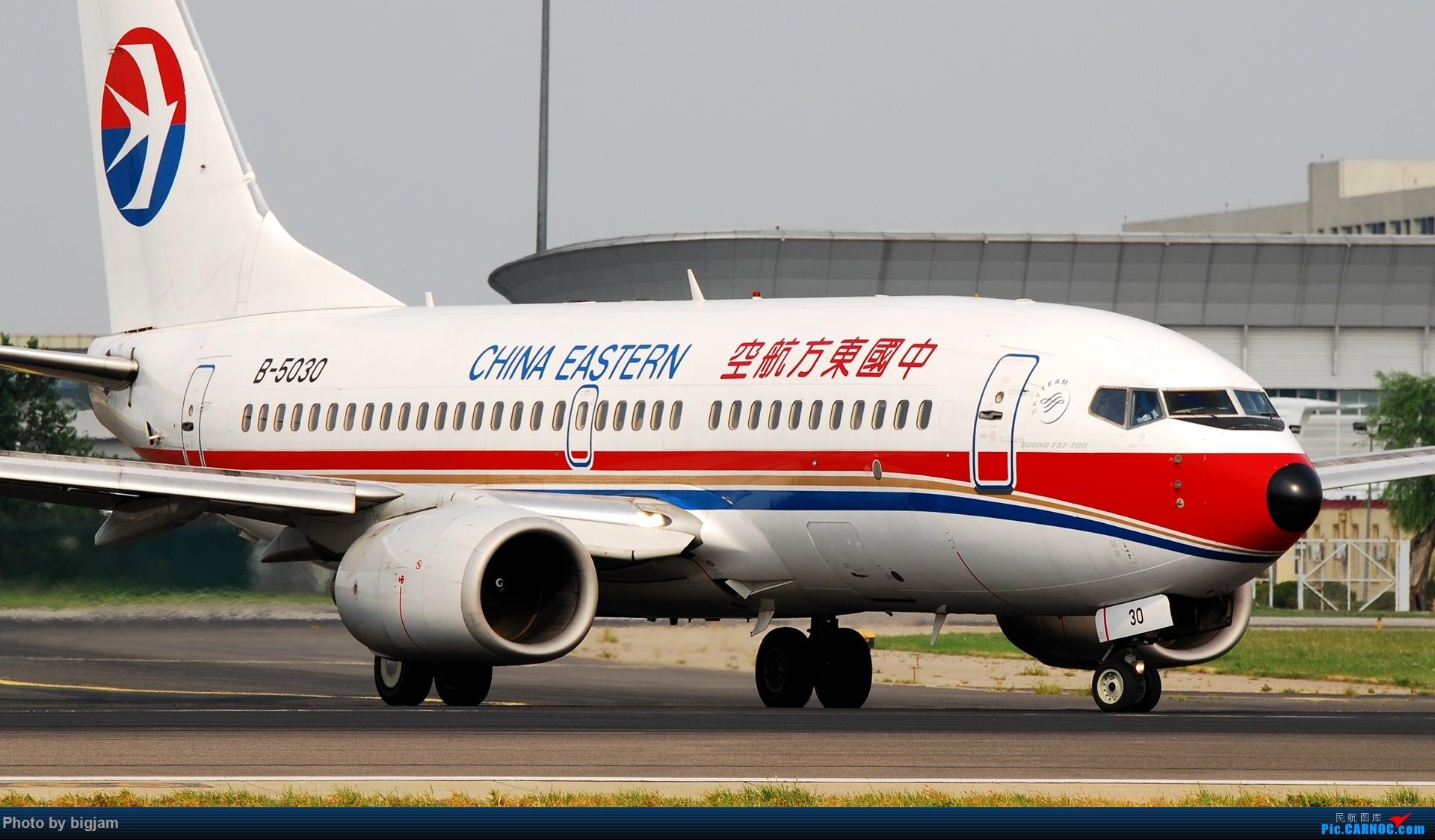 Re:[原创]刚升级到B737级 那就发点拍过的B737吧 BOEING 737-700 B-5030 中国北京首都国际机场