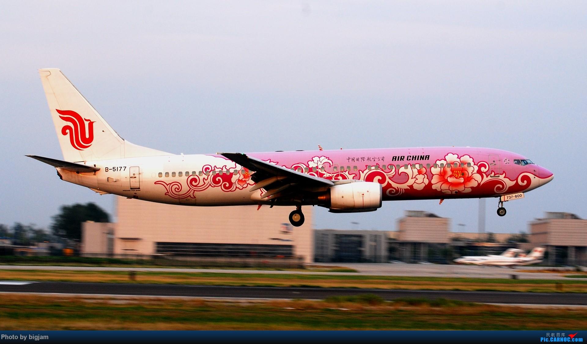 Re:[原创]刚升级到B737级 那就发点拍过的B737吧 BOEING 737-800 B-5177 中国北京首都国际机场