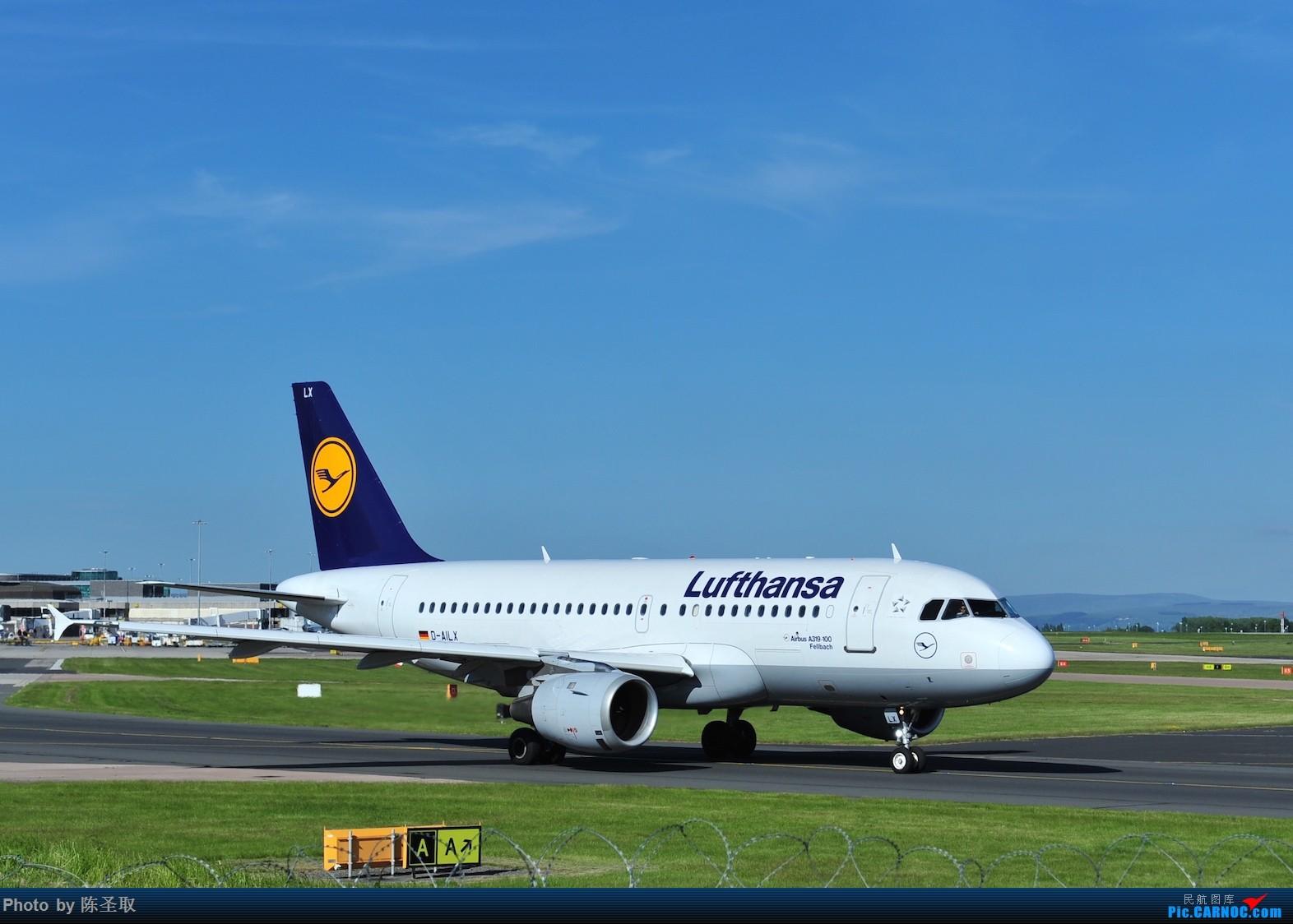 Re:[原创]迟来的6月曼城拍机图。廉价航空的天堂,曼彻斯特机场~ AIRBUS A319-114 D-AILX 英国曼彻斯特机场