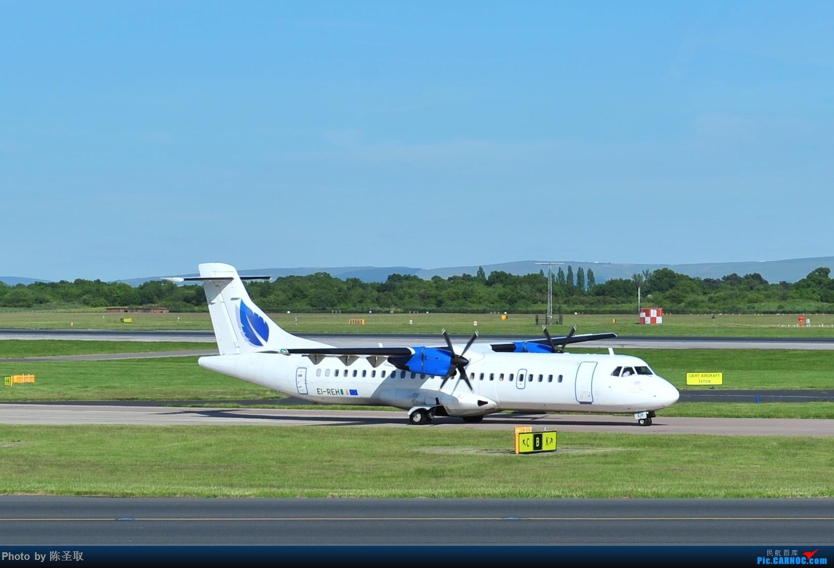 Re:[原创]迟来的6月曼城拍机图。廉价航空的天堂,曼彻斯特机场~ ATR-72 201 EI-REH 英国曼彻斯特机场