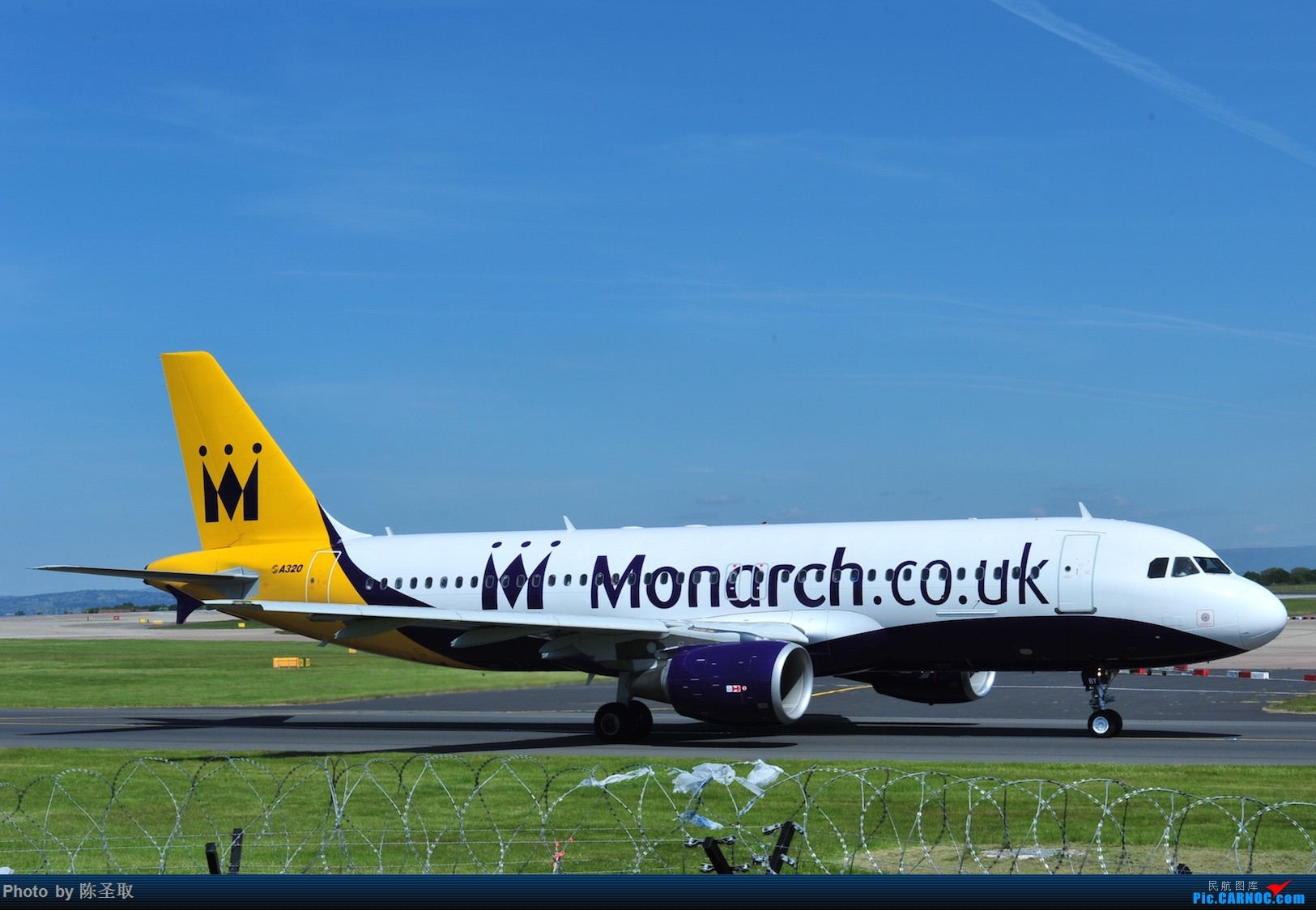 Re:[原创]迟来的6月曼城拍机图。廉价航空的天堂,曼彻斯特机场~ AIRBUS A321-200  英国曼彻斯特机场