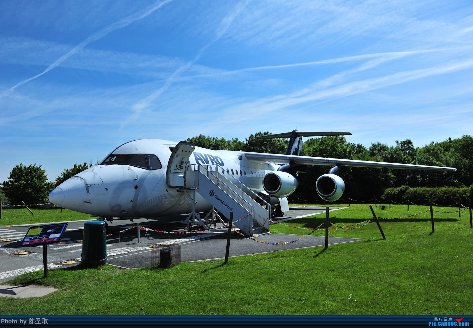 Re:[原创]迟来的6月曼城拍机图。廉价航空的天堂,曼彻斯特机场~ BRITISH AEROSPACE BAE-146  英国曼彻斯特机场