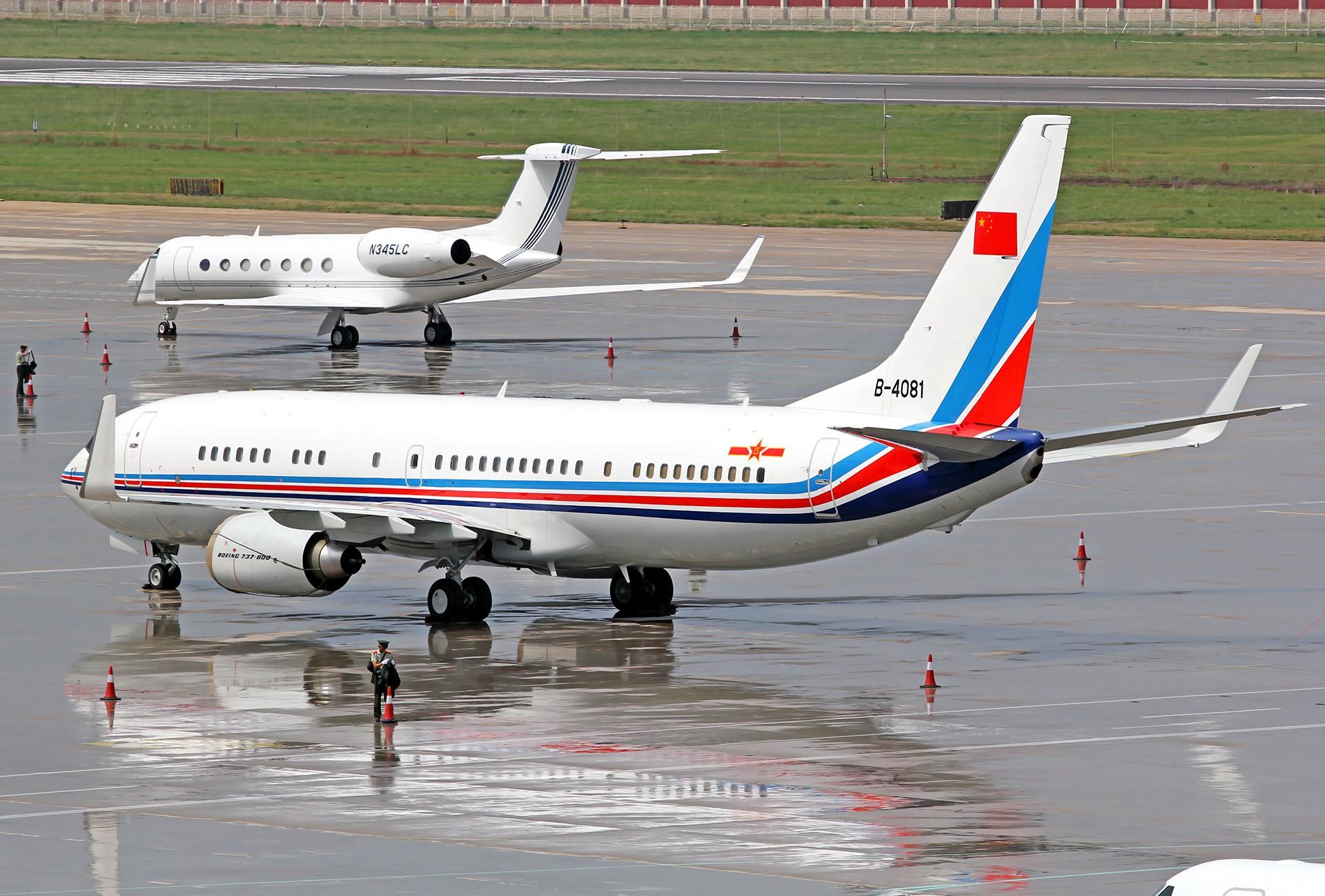 Re:[原创][DLC]。。。达沃斯公务机。。。 BOEING 737-800 B-4081 中国大连国际机场