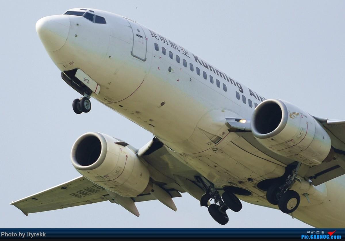 Re:[原创]【LUM】好久没发图,来一发 BOEING 737-700 B-2668 中国芒市机场