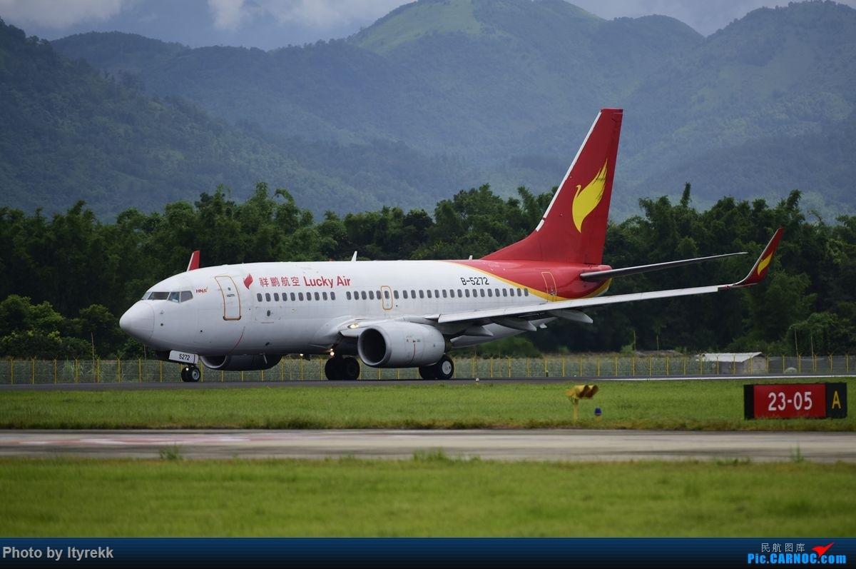 Re:[原创]【LUM】好久没发图,来一发 BOEING 737-700 B-5272 中国芒市机场