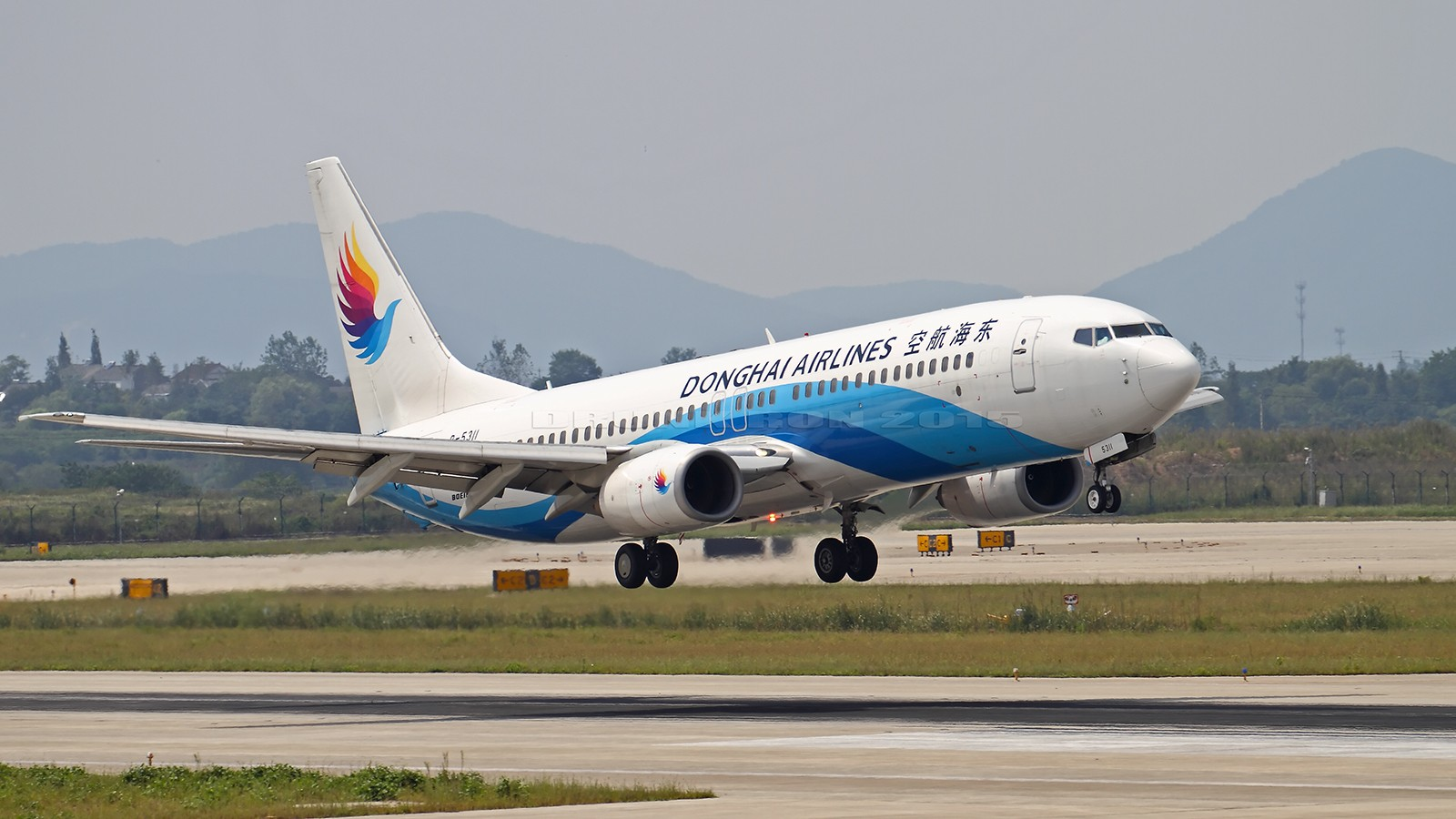 Re:[原创]NKG~暑假结束~周日只能去记录日常了~ BOEING 737-800 B-5311 中国南京禄口国际机场