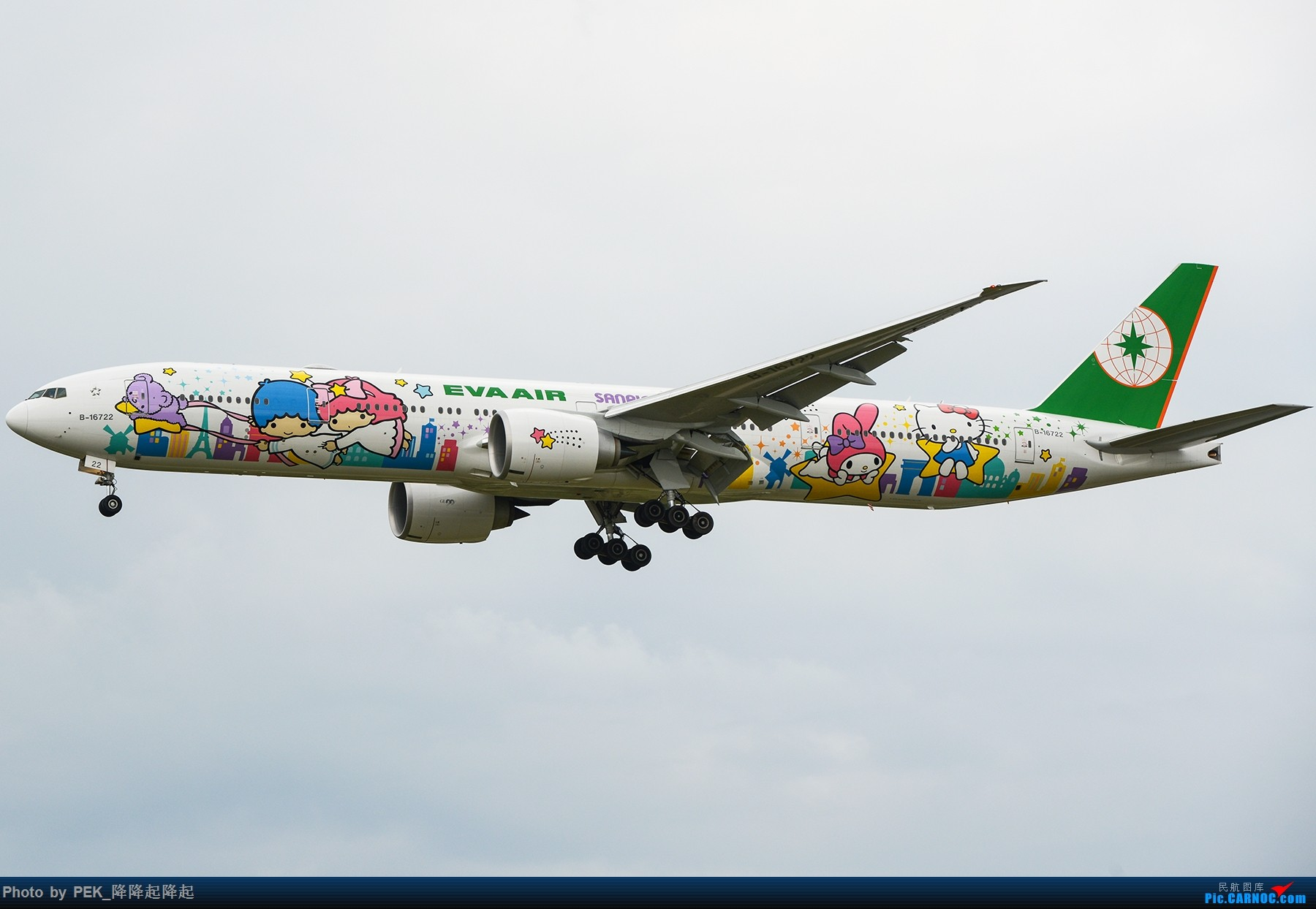 Re:【PEK】EVA喵机 B-16722 1800x1200 BOEING 777-300ER B-16722 中国北京首都国际机场