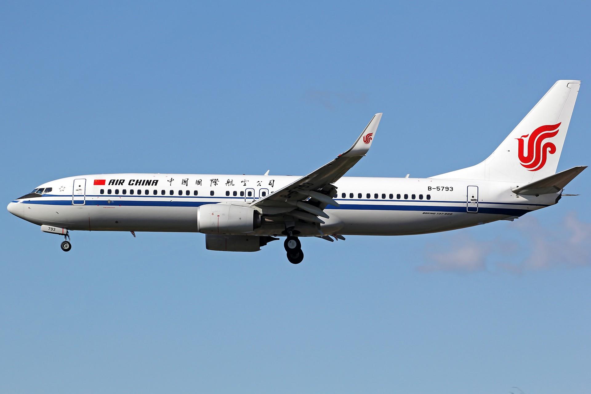 [原创][DLC]。。。降落一组。。。 BOEING 737-800 B-5793 中国大连国际机场