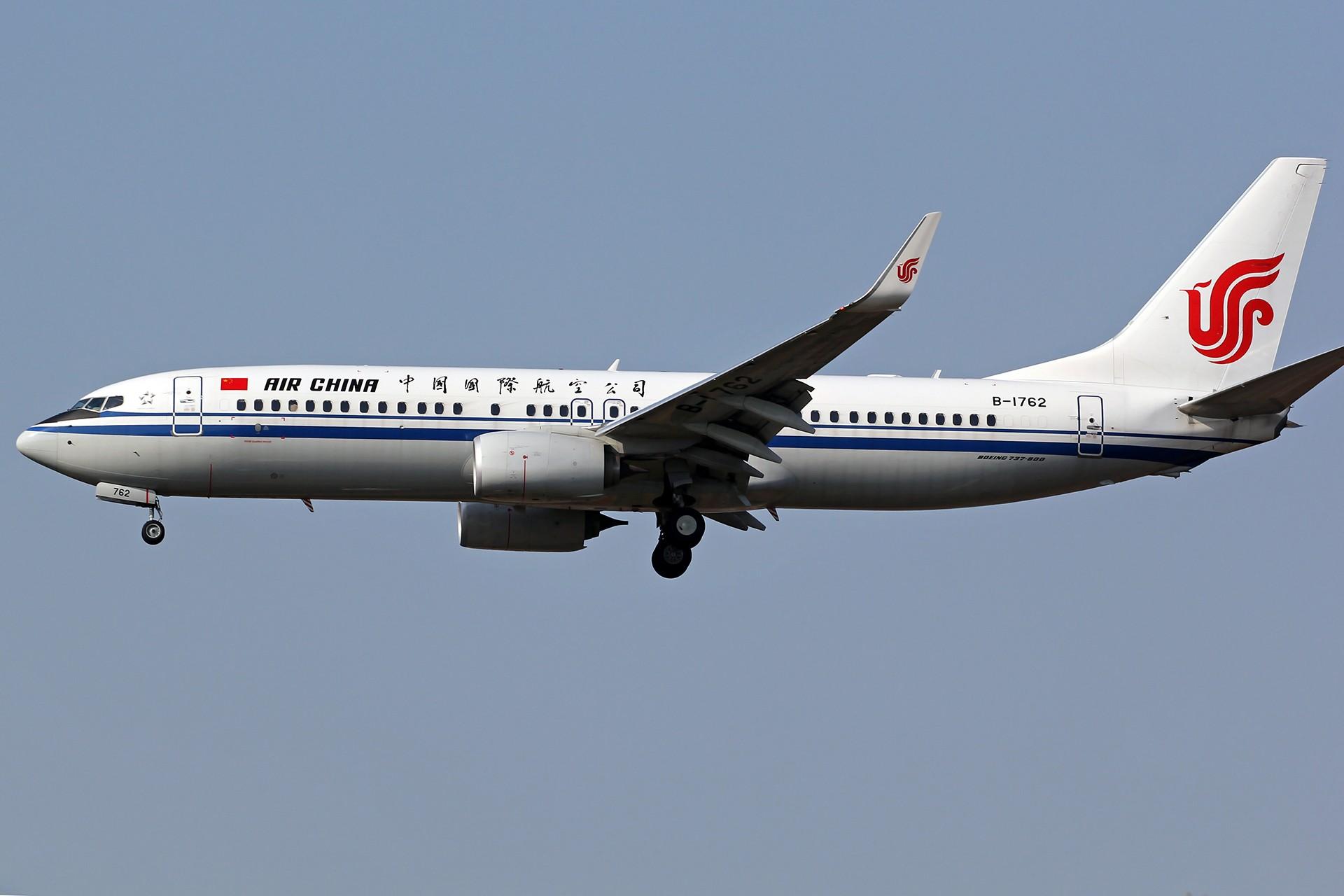 Re:[原创][DLC]。。。降落一组。。。 BOEING 737-800 B-1762 中国大连国际机场