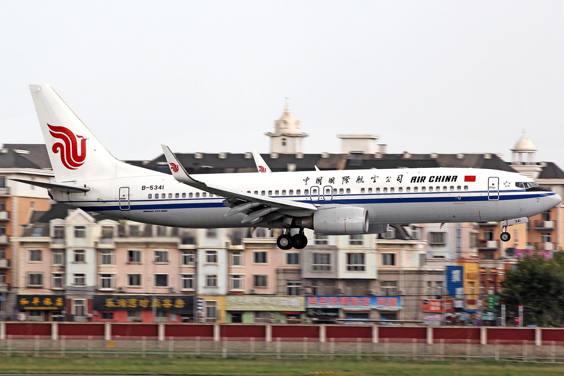Re:[原创][DLC]。。。降落一组。。。 BOEING 737-800 B-5341 中国大连国际机场