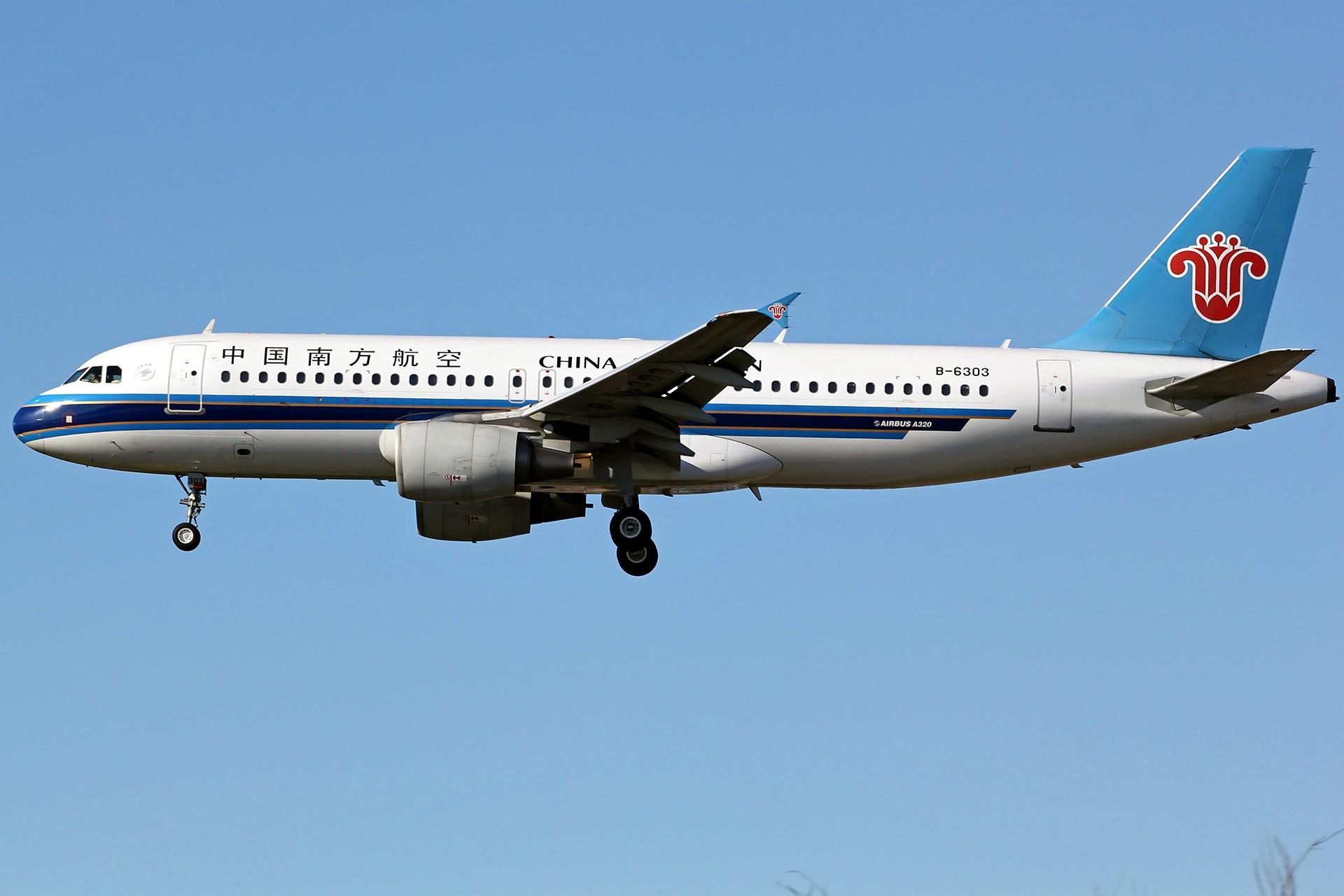 Re:[原创][DLC]。。。降落一组。。。 AIRBUS A320-200 B-6303 中国大连国际机场