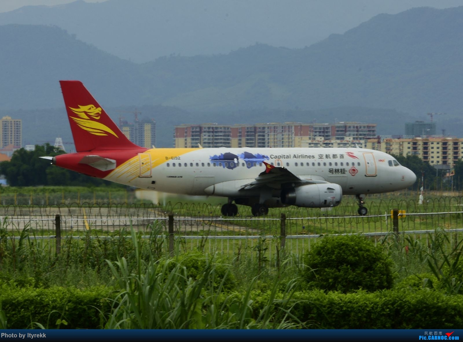 Re:[原创]【LUM】碰巧今日有空,修得几张图。 AIRBUS A319-100 B-6192 中国芒市机场