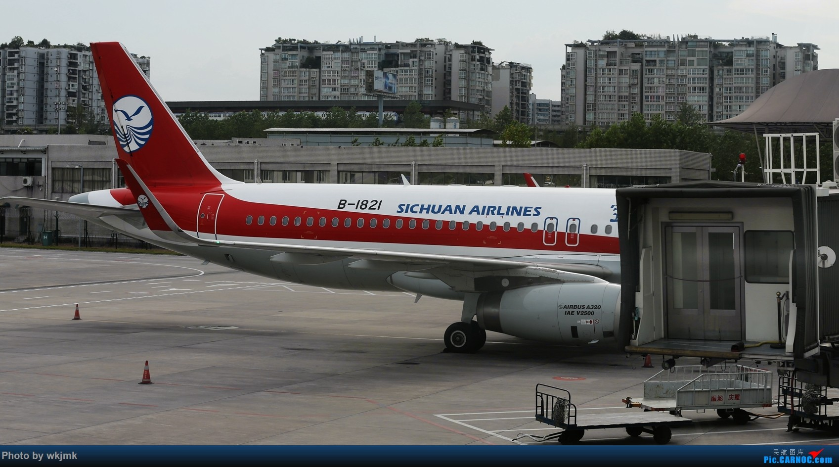 Re:[原创]西宁,成都,重庆三地拍机 AIRBUS A320-200 B-1821 中国重庆江北国际机场