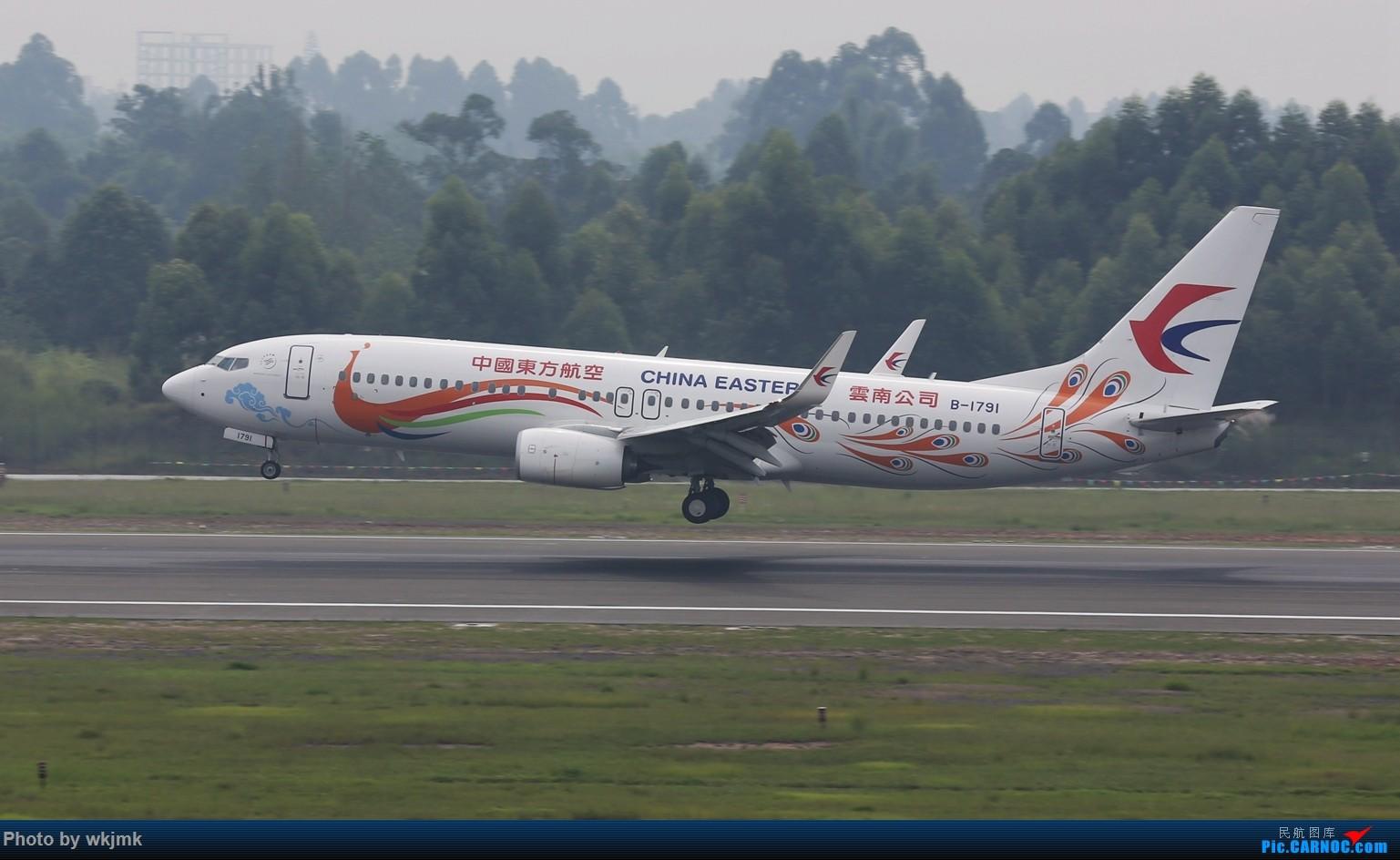 Re:[原创]西宁,成都,重庆三地拍机 BOEING 737-800 B-1791 中国成都双流国际机场