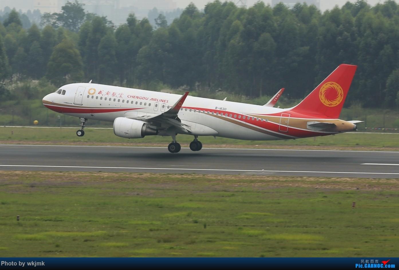 Re:[原创]西宁,成都,重庆三地拍机 AIRBUS A320-200 B-1630 中国成都双流国际机场