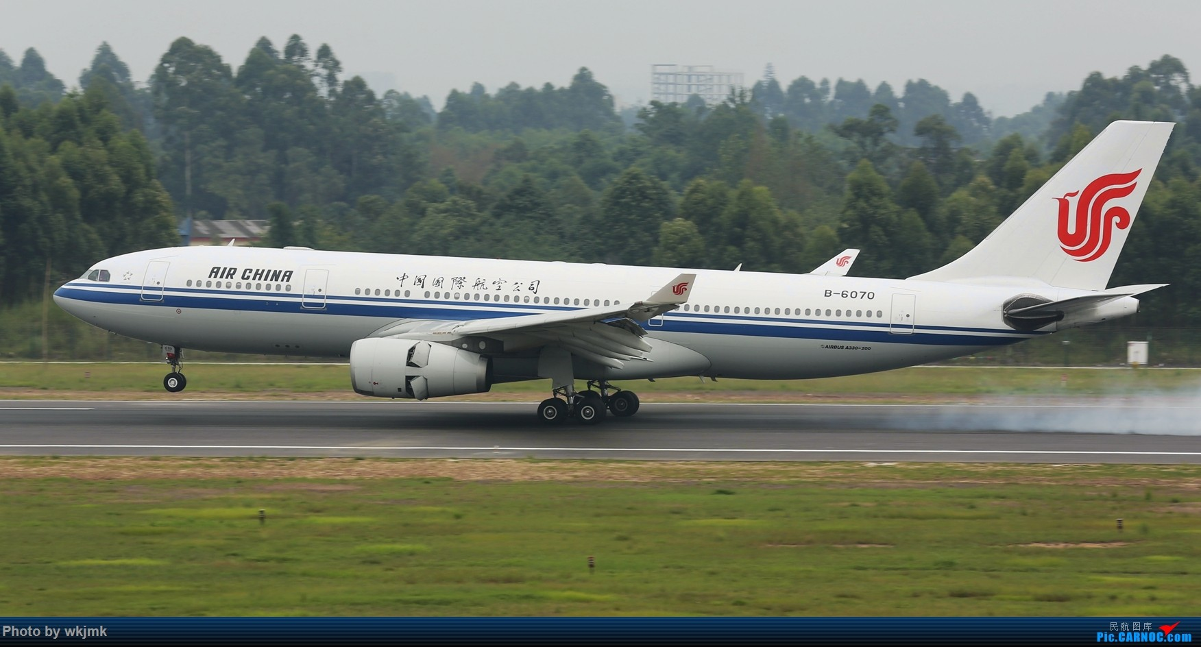 Re:[原创]西宁,成都,重庆三地拍机 AIRBUS A330-200 B-6070 中国成都双流国际机场