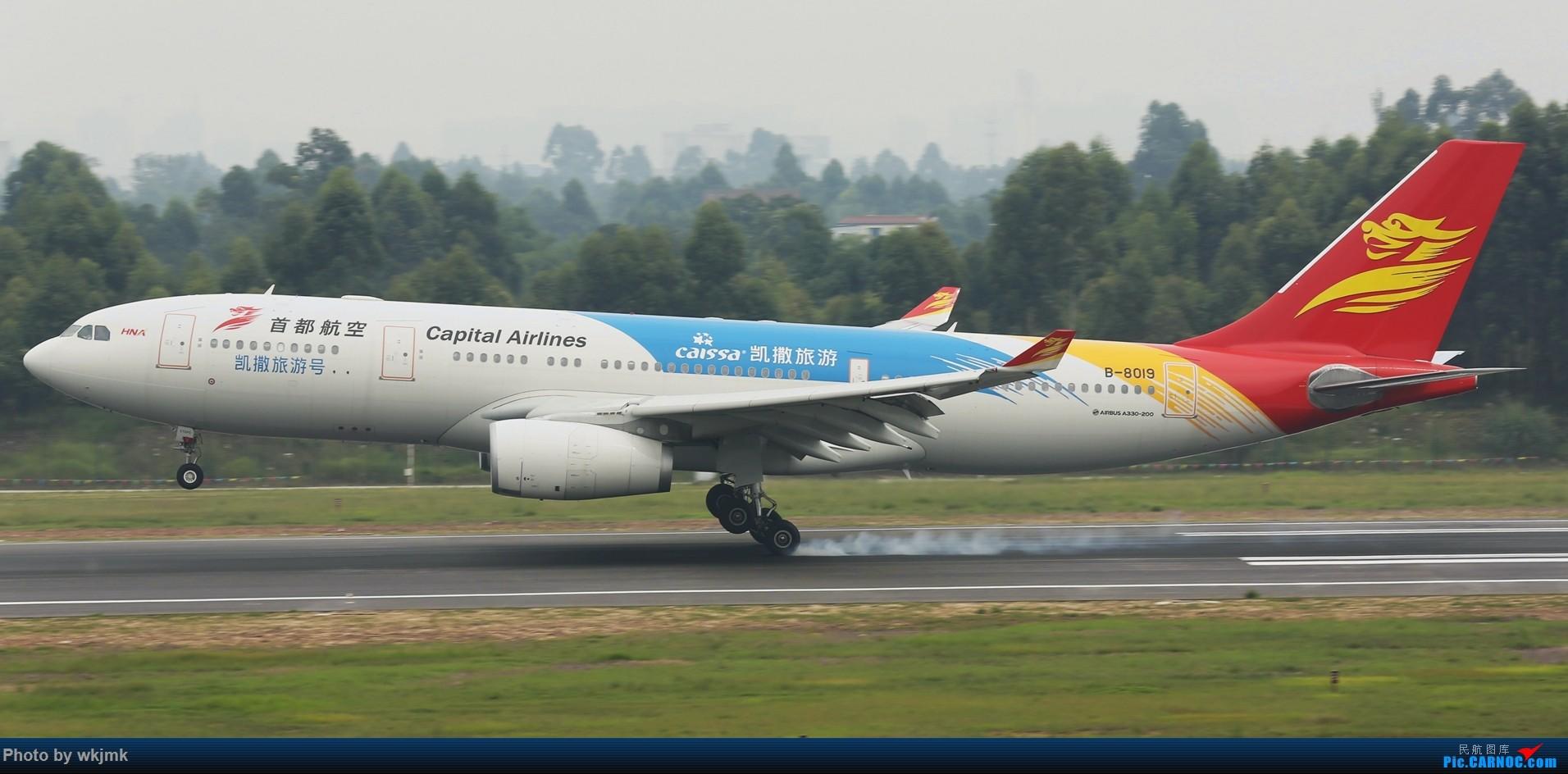 Re:[原创]西宁,成都,重庆三地拍机 AIRBUS A330-200 B-8019 中国成都双流国际机场