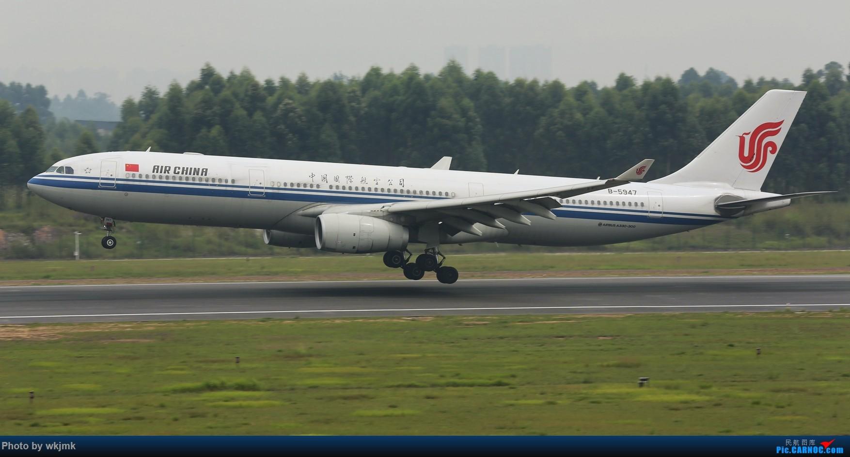Re:[原创]西宁,成都,重庆三地拍机 AIRBUS A330-300 B-5947 中国成都双流国际机场