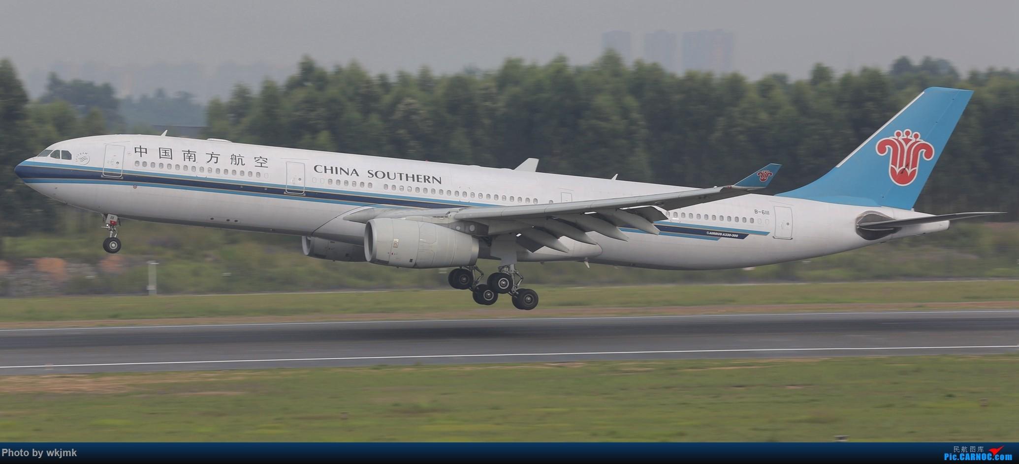Re:[原创]西宁,成都,重庆三地拍机 AIRBUS A330-300 B-6111 中国成都双流国际机场