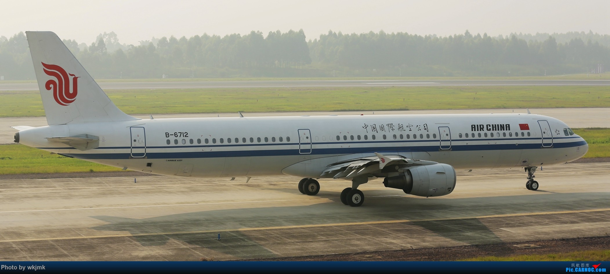 Re:[原创]西宁,成都,重庆三地拍机 AIRBUS A321-200 B-6712 中国成都双流国际机场