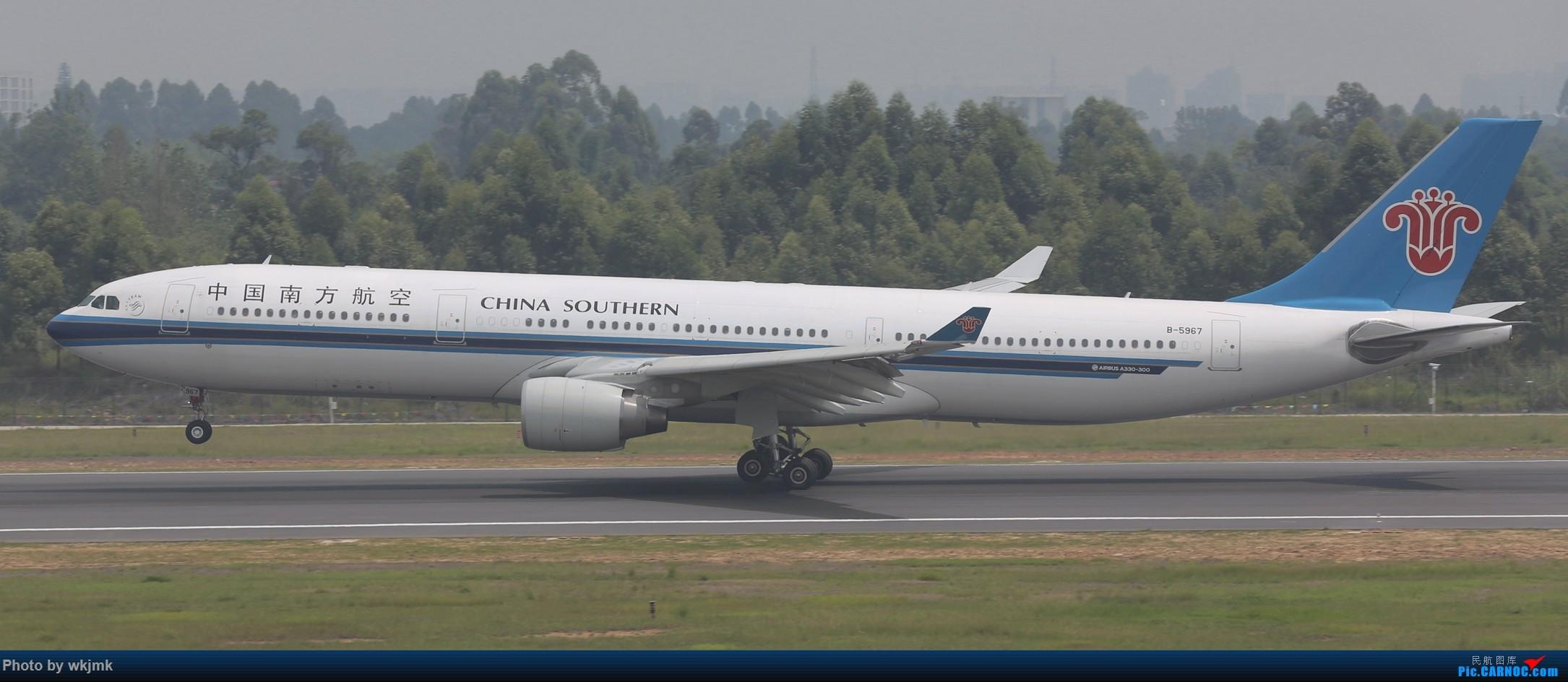 Re:[原创]西宁,成都,重庆三地拍机 AIRBUS A330-300 B-5967 中国成都双流国际机场