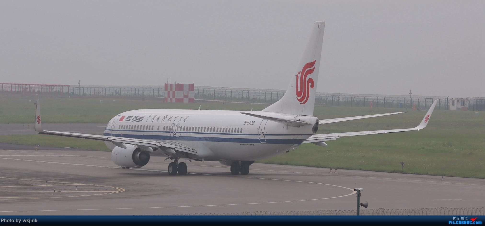 Re:[原创]西宁,成都,重庆三地拍机 BOEING 737-800 B-1738 中国重庆江北国际机场