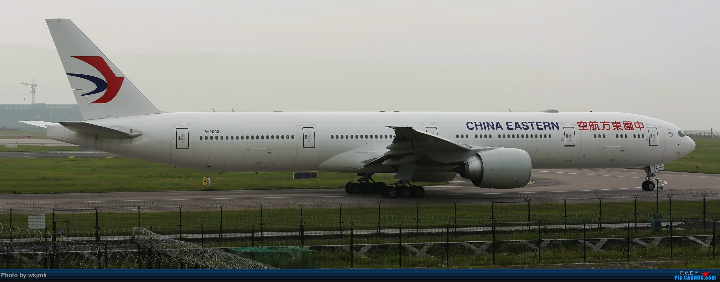 Re:[原创]西宁,成都,重庆三地拍机 BOEING 777-300ER B-2003 中国重庆江北国际机场