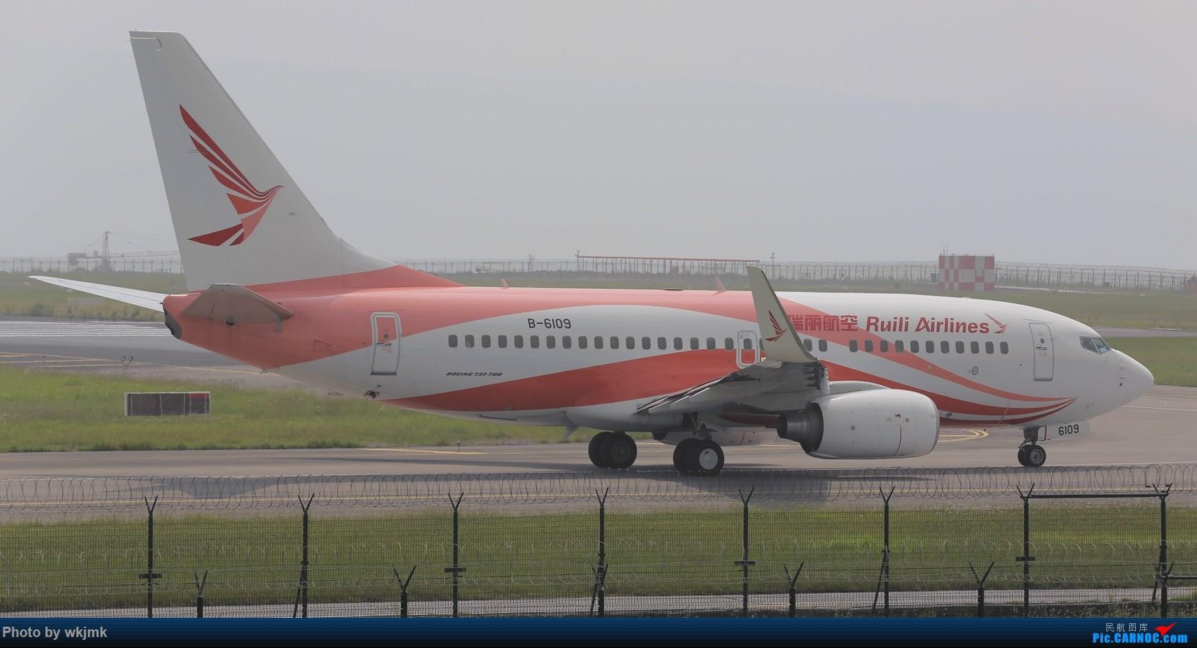 Re:[原创]西宁,成都,重庆三地拍机 BOEING 737-700 B-6109 中国重庆江北国际机场