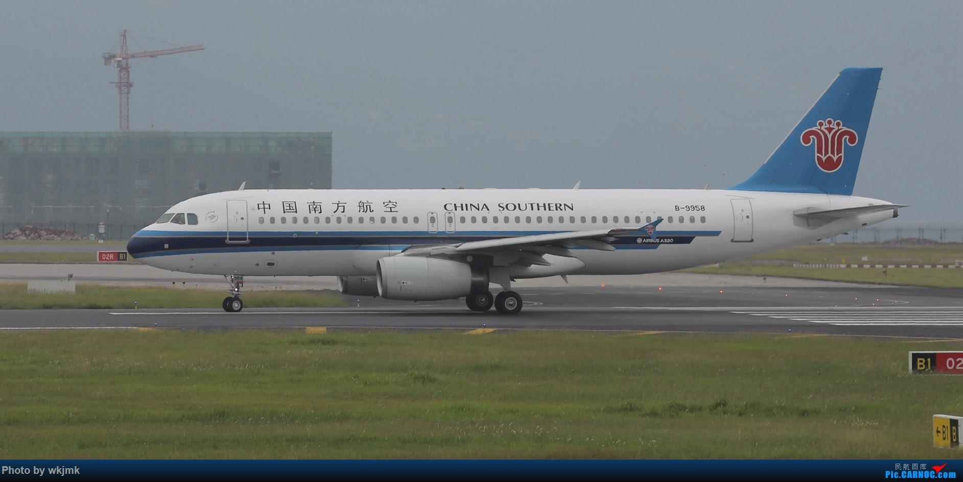 Re:[原创]西宁,成都,重庆三地拍机 AIRBUS A320-200 B-9958 中国重庆江北国际机场