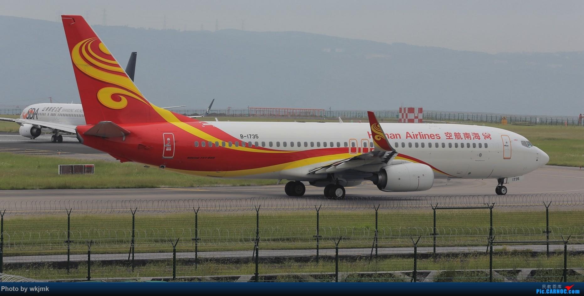 Re:[原创]西宁,成都,重庆三地拍机 BOEING 737-800 B-1735 中国重庆江北国际机场