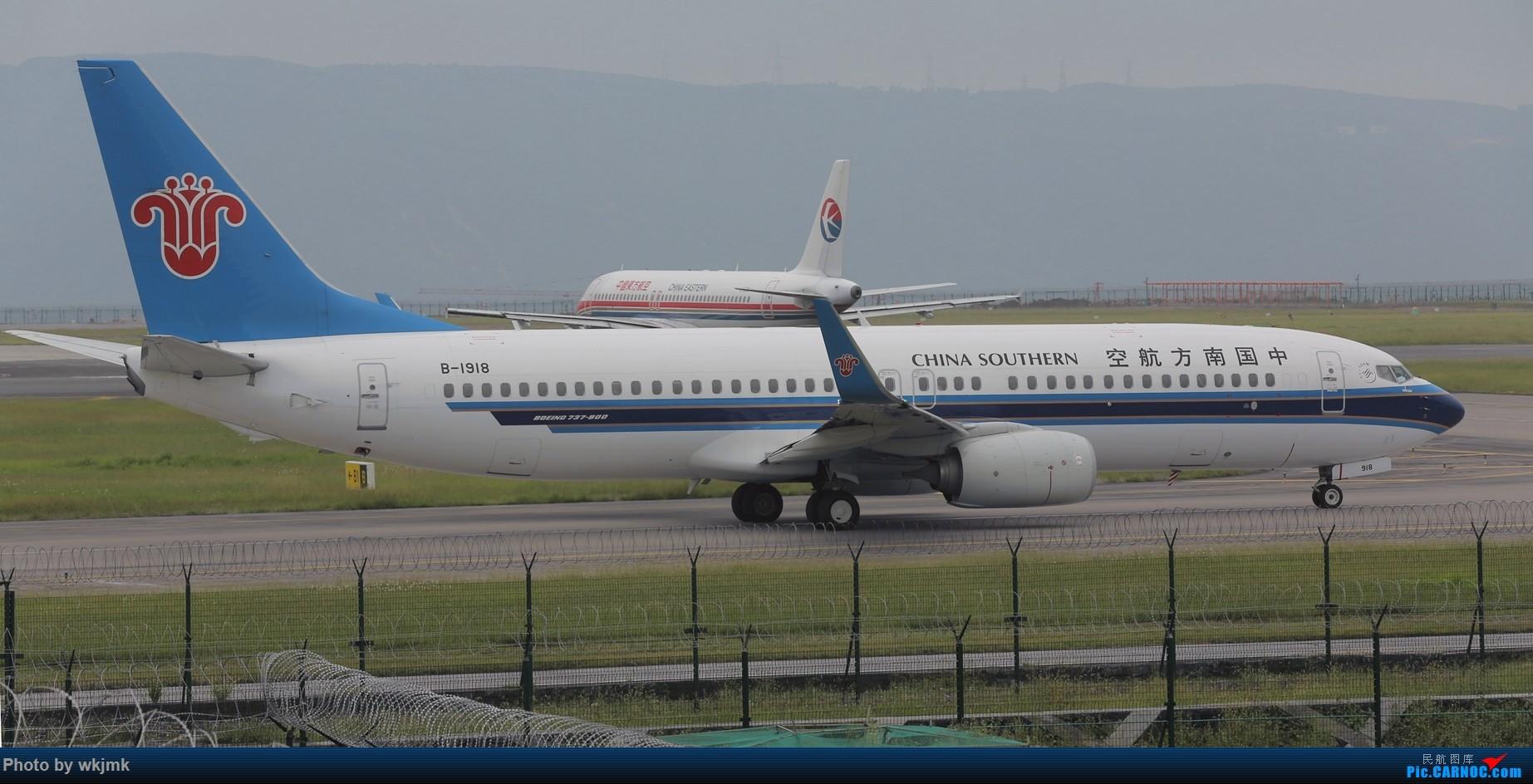 Re:[原创]西宁,成都,重庆三地拍机 BOEING 737-800 B-1918 中国重庆江北国际机场