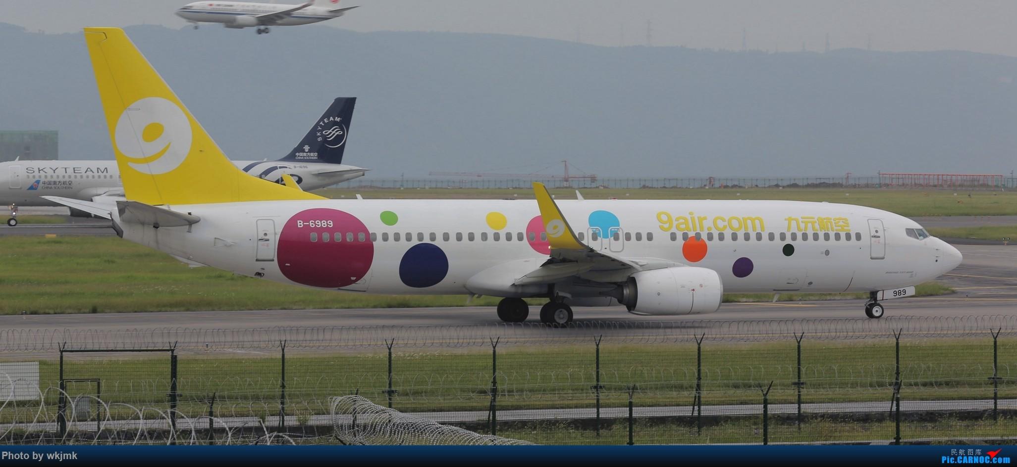 Re:[原创]西宁,成都,重庆三地拍机 BOEING 737-800 B-6989 中国重庆江北国际机场