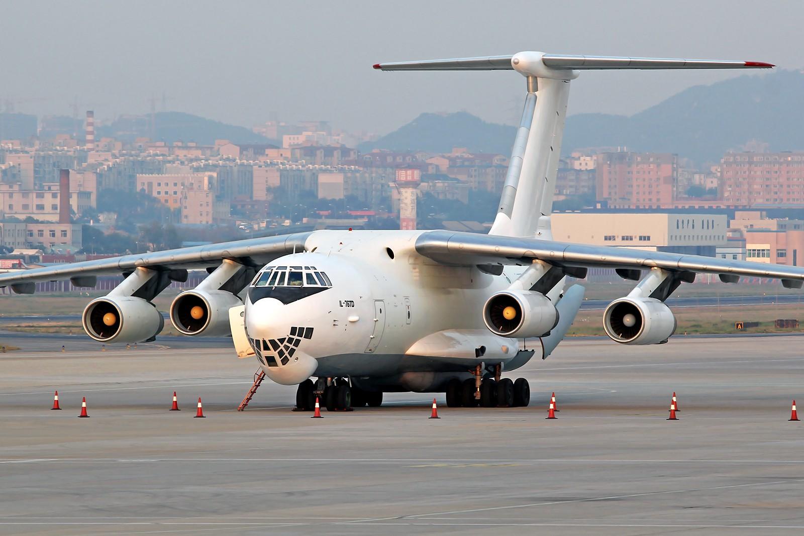 Re:[原创][DLC]。。。俄罗斯第二架RA-76834 IL-76TD,第一架RA-76834 IL-76TD于1997.01.25坠毁。。。 ILYUSHIN IL-76-TD RA-76834 中国大连国际机场