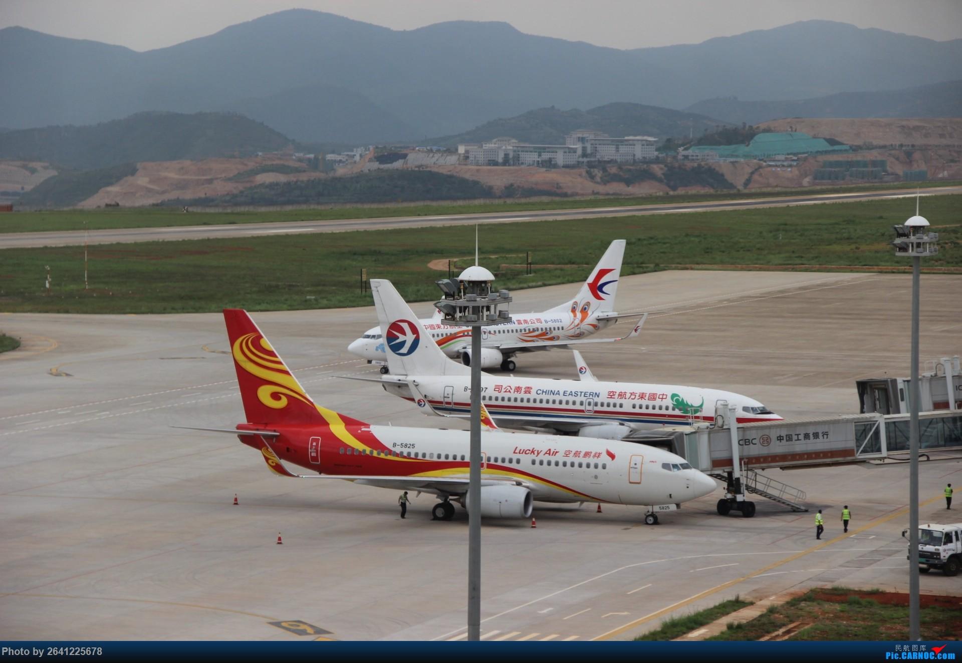 Re:[原创]【LUM】碰巧今日有空,修得几张图。 BOEING 737-700 B-5807 中国大理机场