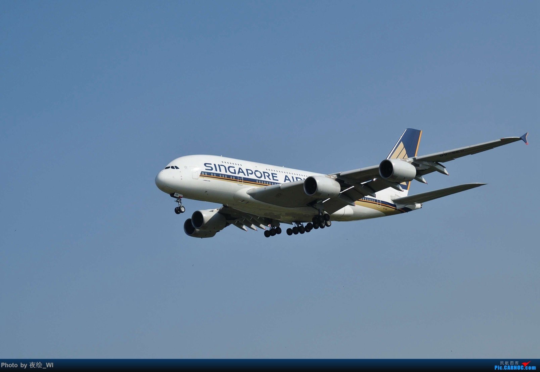 [原创]【PEK】初刷八卦台,拍得飞起! AIRBUS A380-800 9V-SKB 中国北京首都国际机场