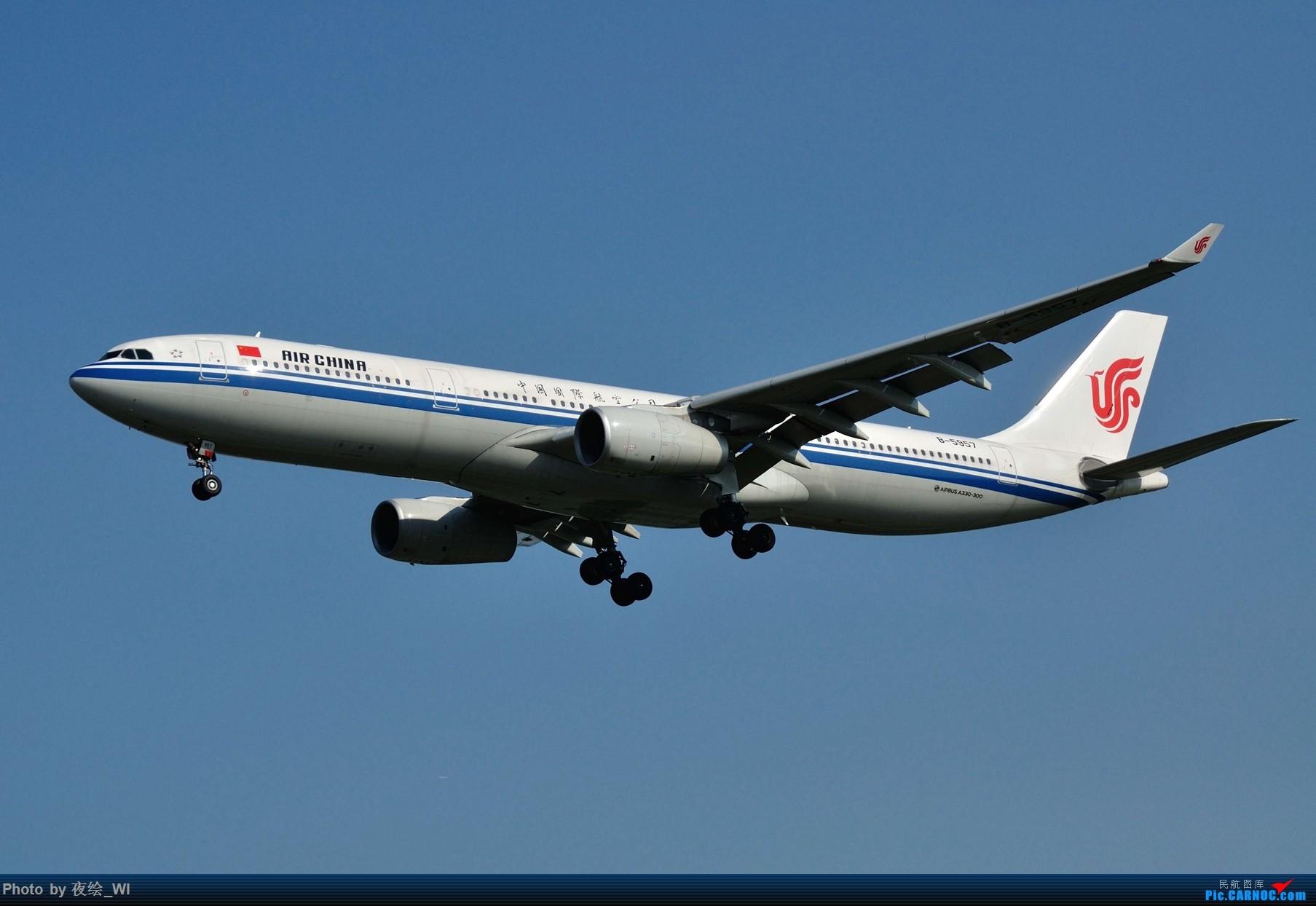 Re:[原创]【PEK】初刷八卦台,拍得飞起! AIRBUS A330-300 B-5957 中国北京首都国际机场